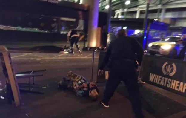 <p>Один из возможных подозреваемых в атаке на Лондонском мосту. Фото: Соцсети/The Telegtaph</p>