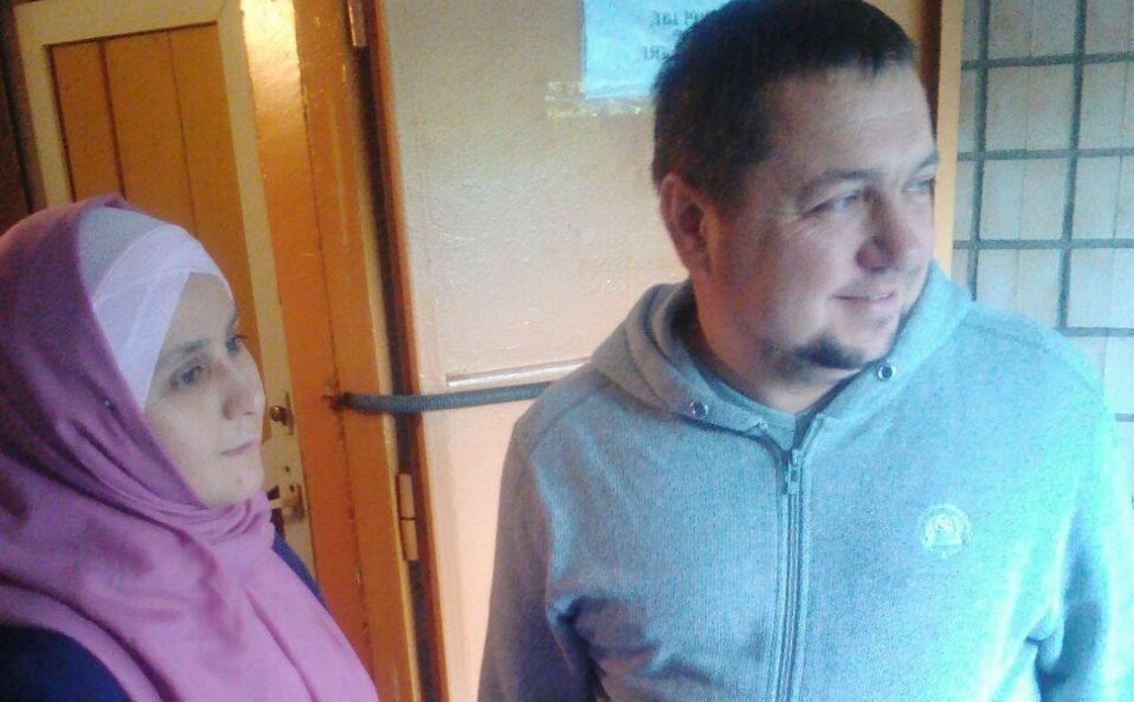 <div>Ильдар Валиев с женой Адель. <span>Фото: из личного архива Тагира Минибаева</span></div>