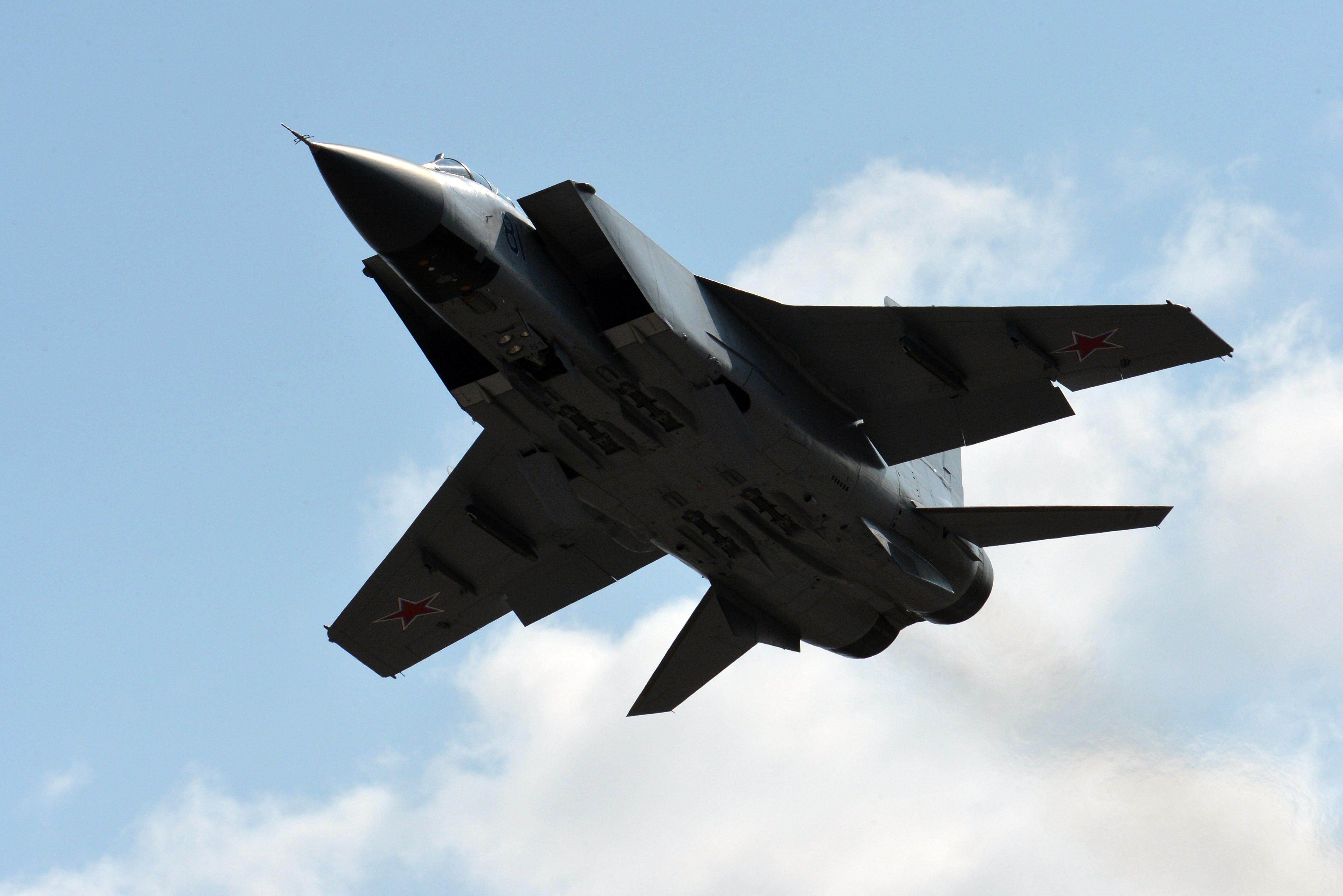 <p>МиГ-31. Фото: &copy;РИА Новости/Виталий Аньков</p>