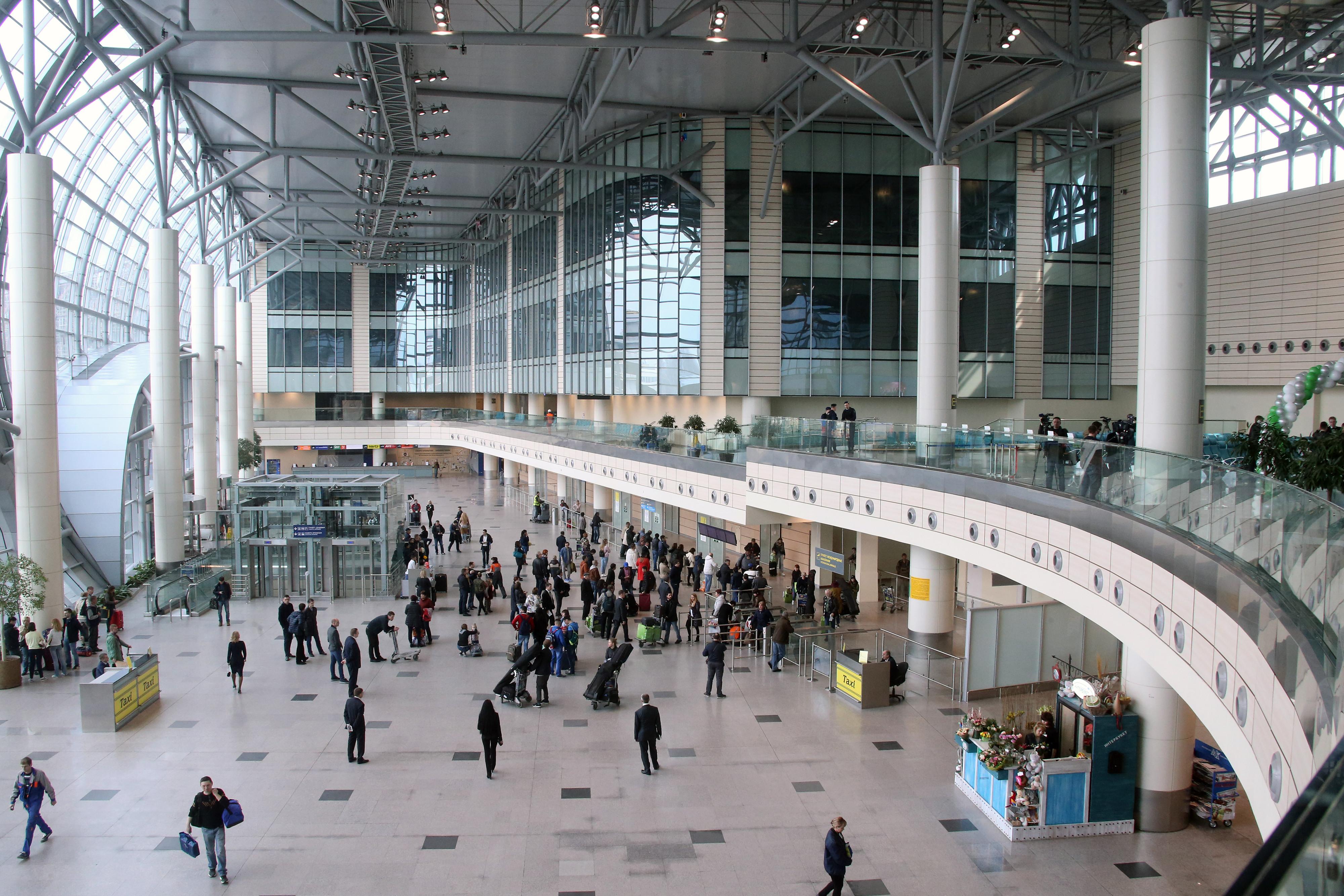 <p>Зал ожидания в аэропорту Домодедово. Фото: &copy;РИА Новости /&nbsp;Виталий Белоусов</p>