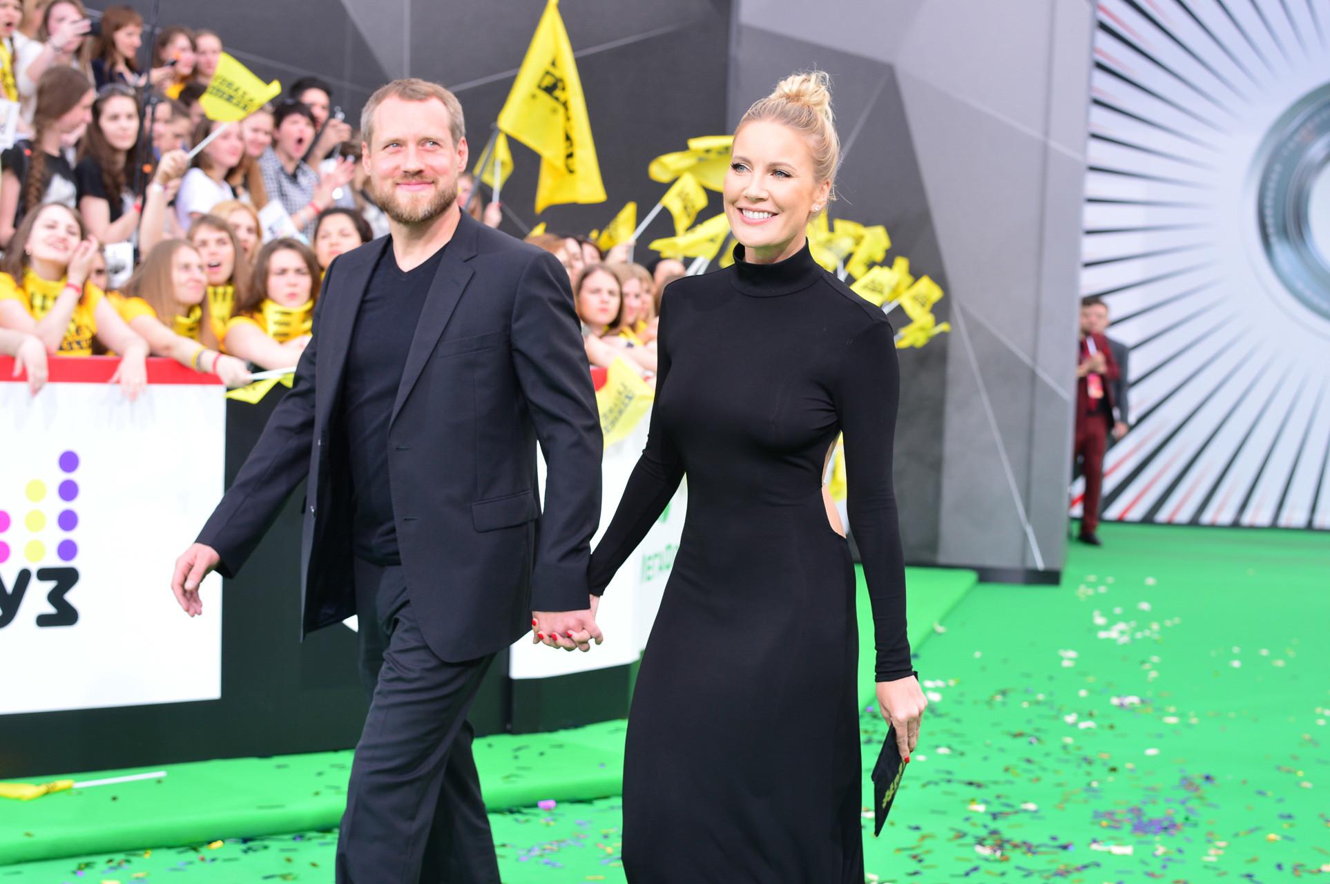 Елена Летучая с супругом Фото: Пресс-служба Муз-ТВ