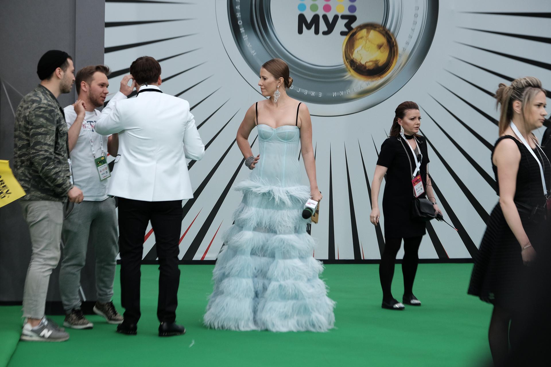 Ксения Собчак Фото: Пресс-служба Муз-ТВ