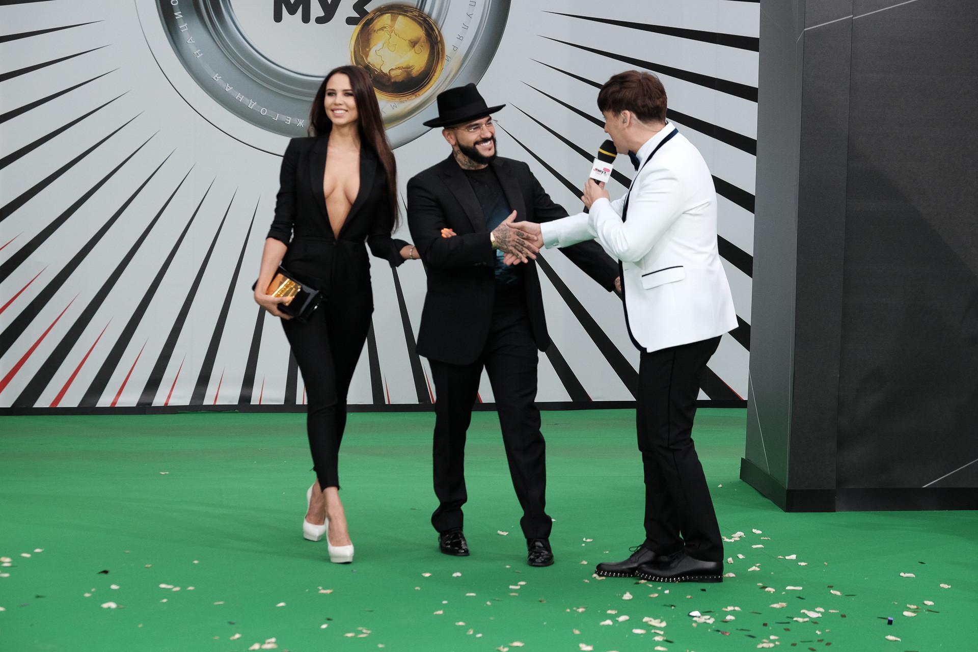 Тимати и Анастасия Решетова Фото: Пресс-служба Муз-ТВ
