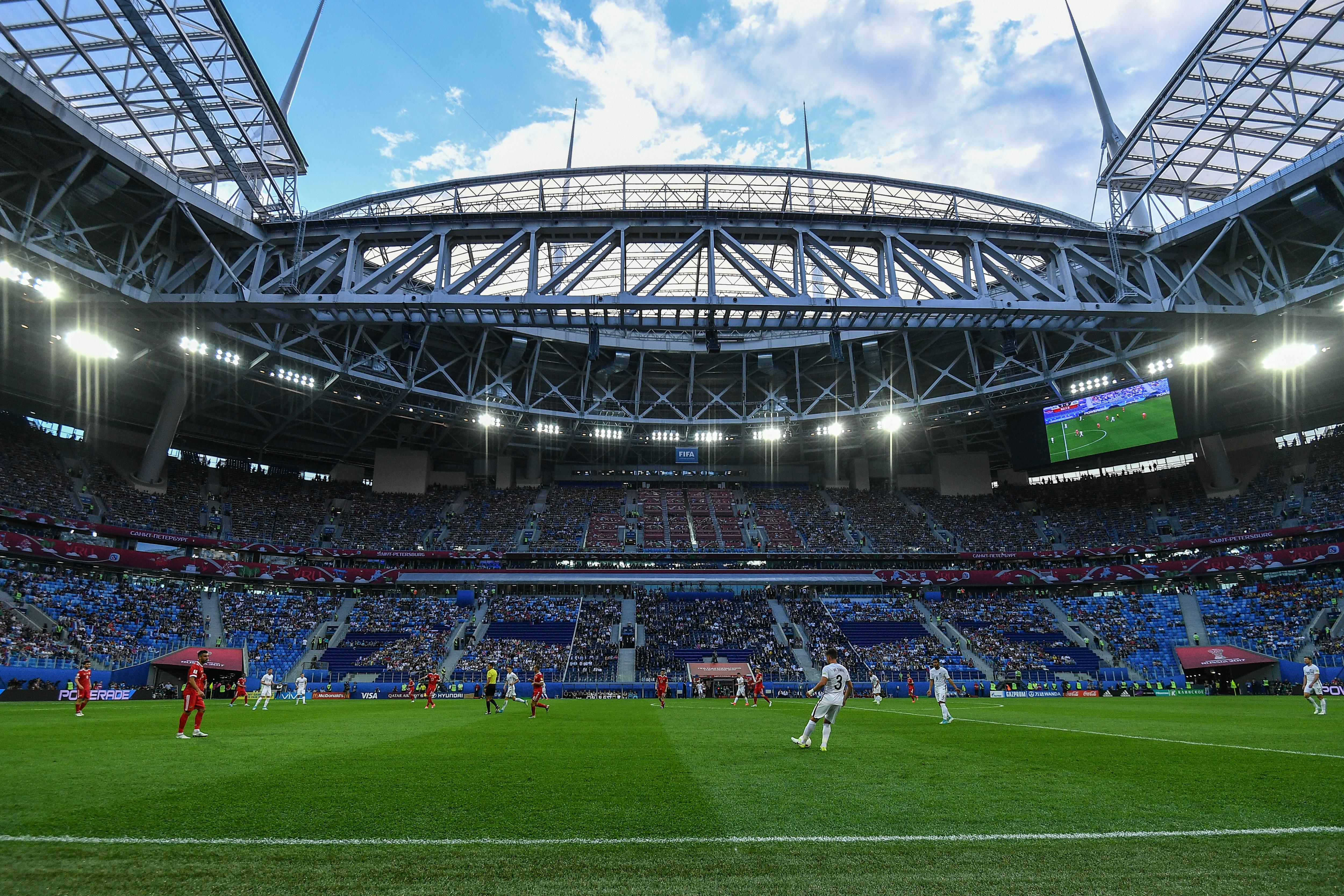 зенит арена фото с матча сайте бесплатных объявлений