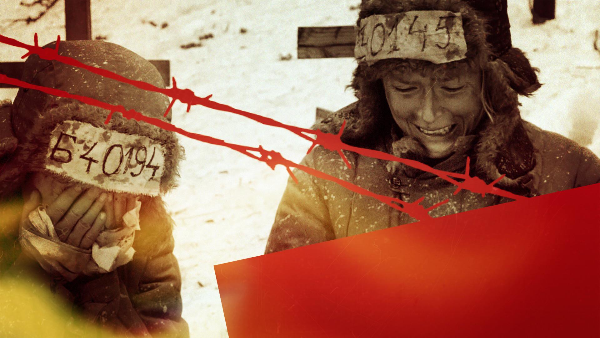 Коллаж © L!FE. Кадр фильма Gulag Vorkuta / © Кинопоиск