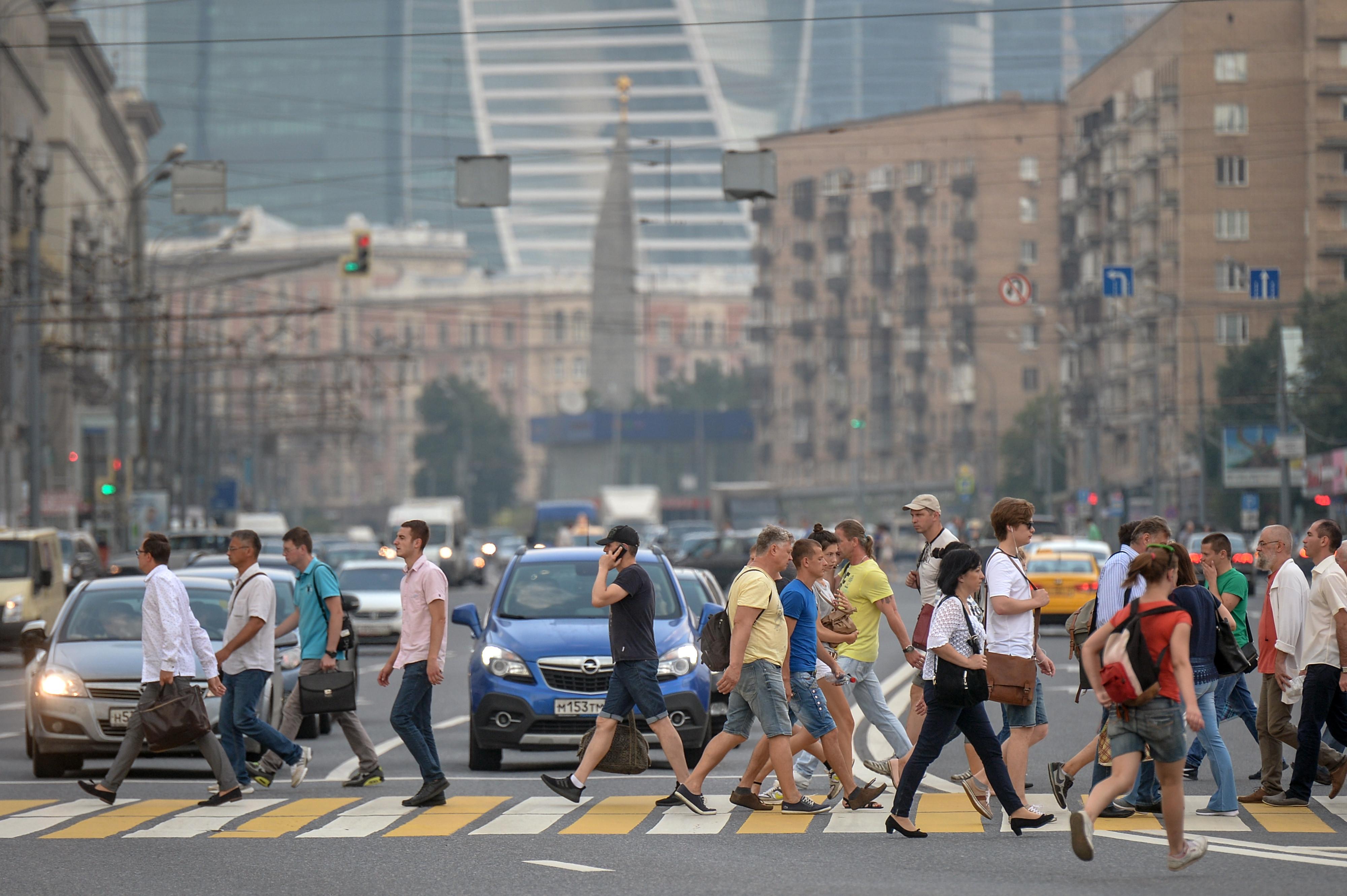 <p>Пешеходы в Москве. Фото: &copy; РИА Новости/Евгений Одиноков</p>