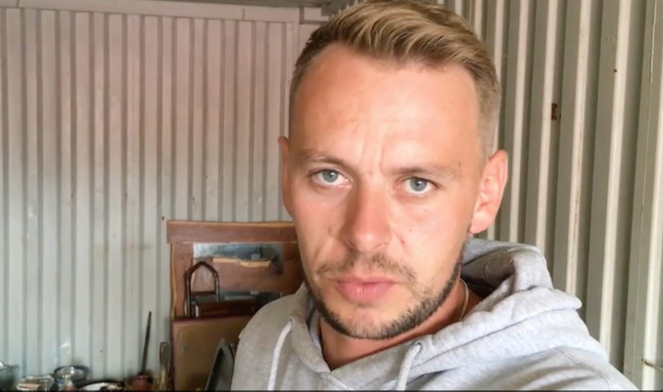Энтони Франческо. Скриншот видео GazetteLive