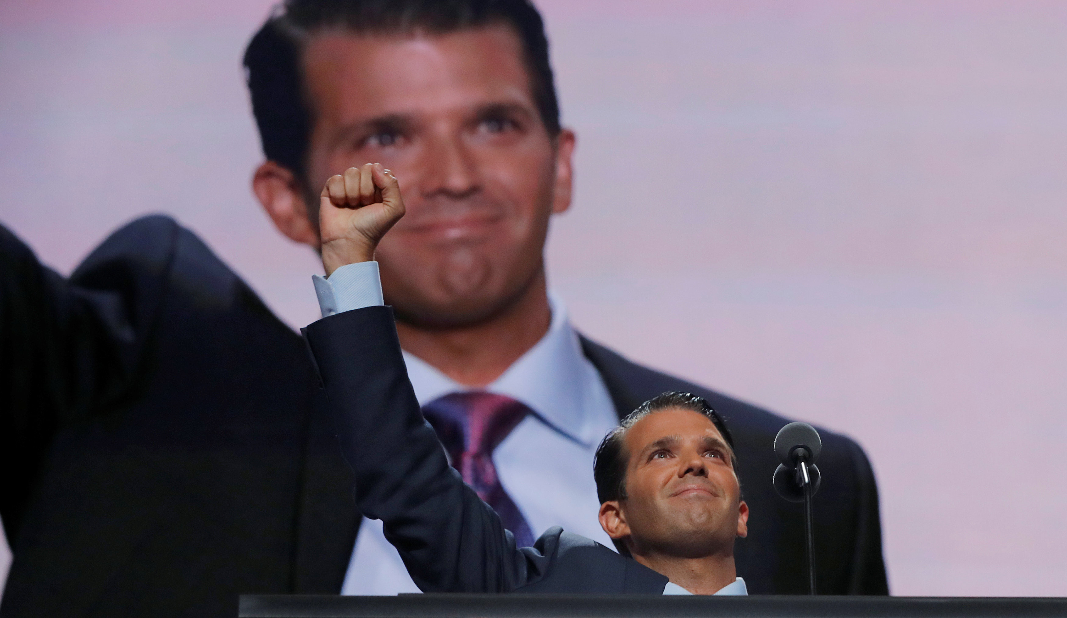 <p>Дональд Трамп-младший. Фото: <span>&copy;&nbsp;</span><span>REUTERS/Brian Snyder</span></p>
