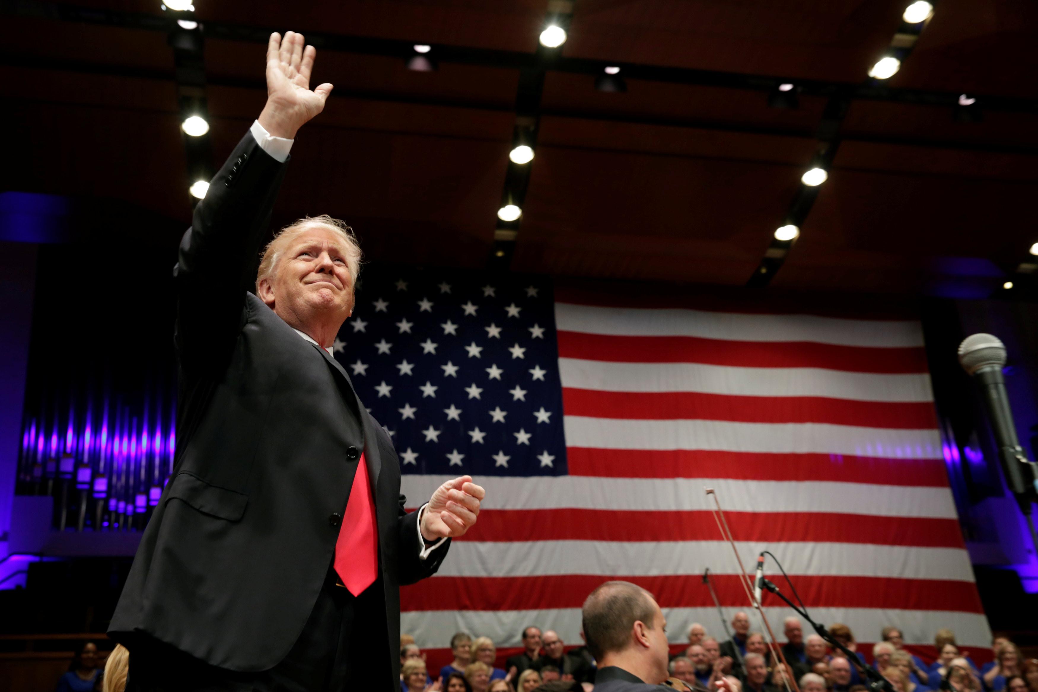 <p>Дональд Трамп. Фото: &copy;&nbsp;<span>REUTERS/Yuri Gripas</span></p>