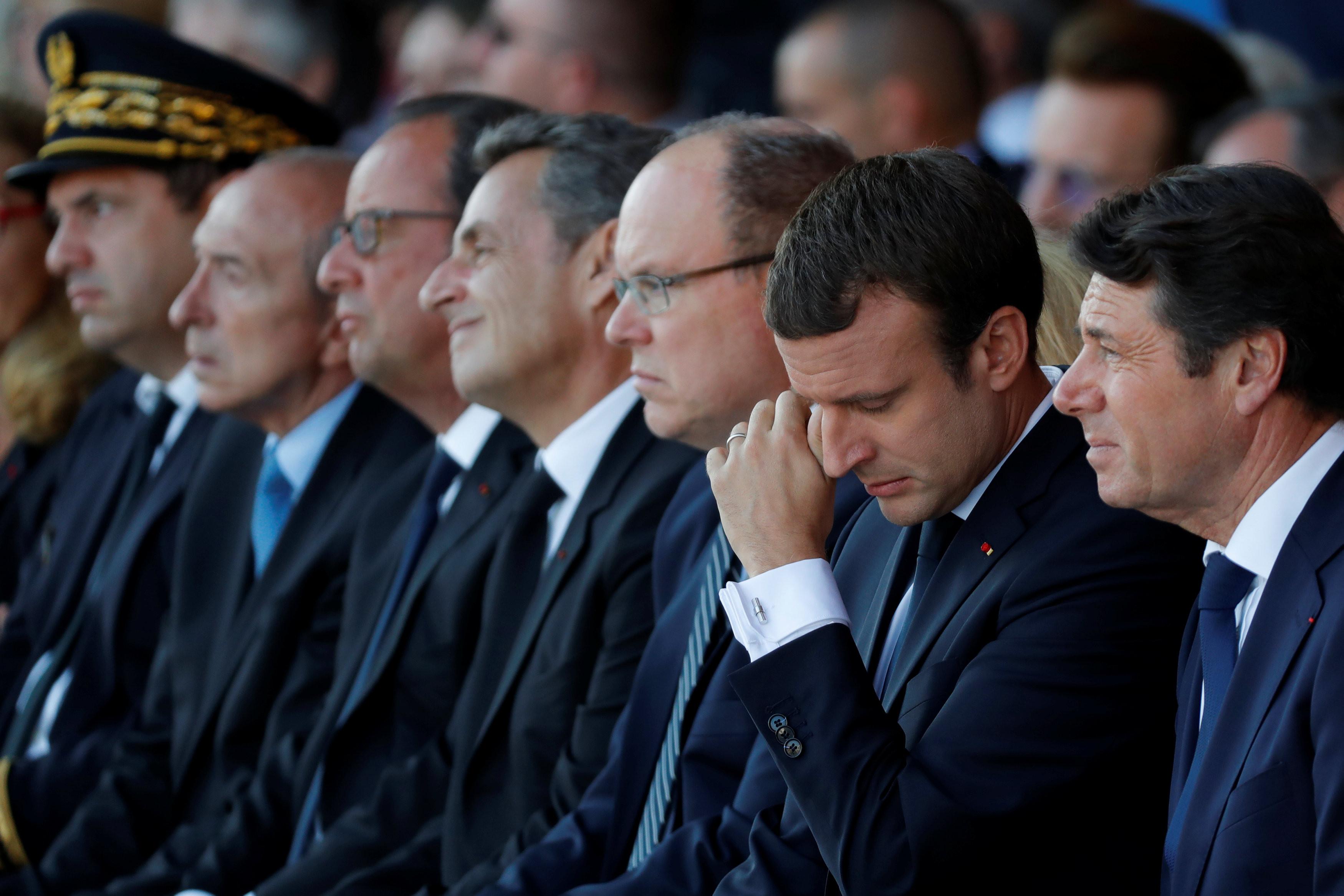 <p><span>Эммануэль Макрон почтил память жертв теракта, произошедшего год назад в Ницце. Фото: &copy;REUTERS/Eric Gaillard</span></p>