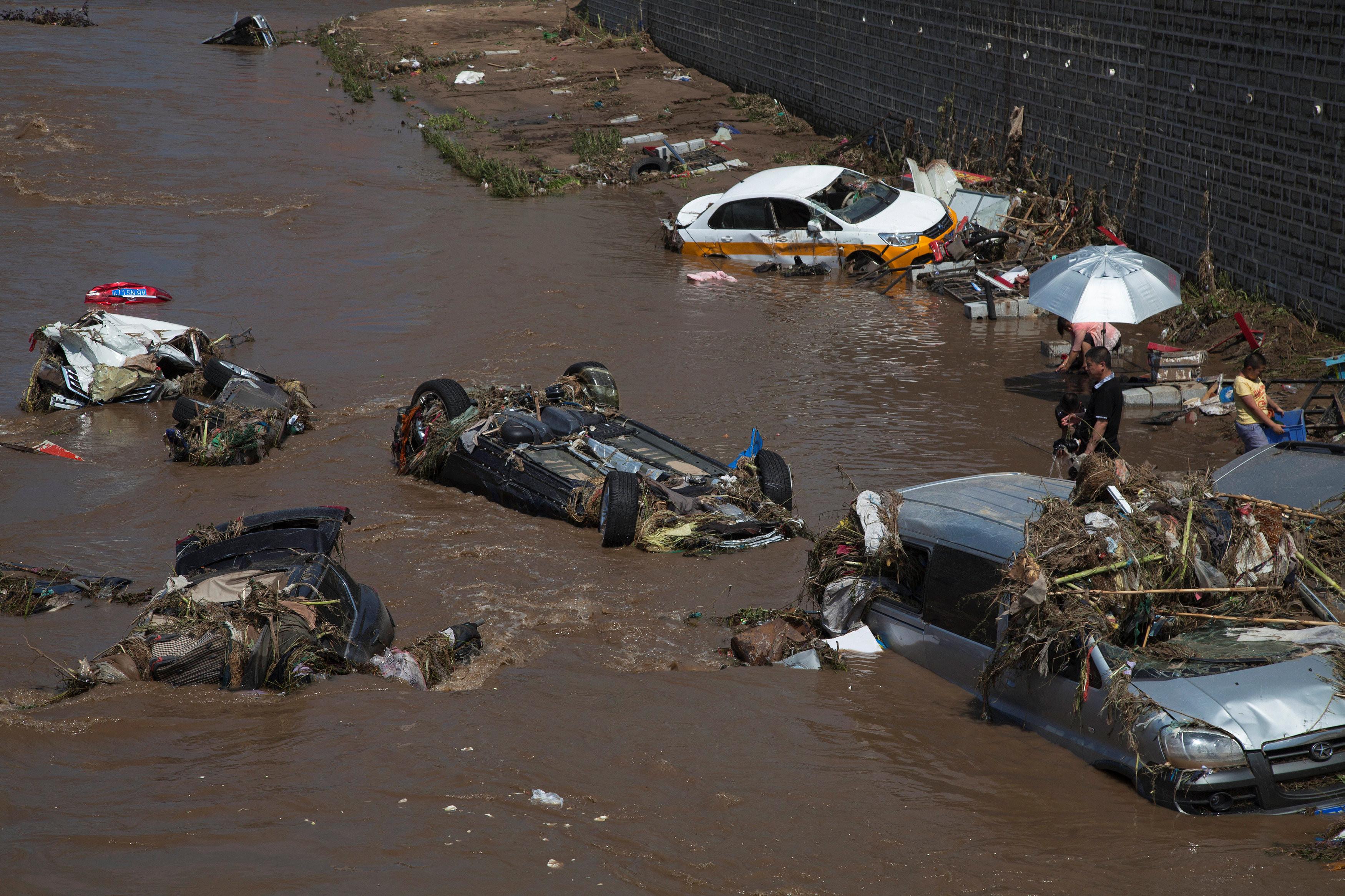 <p>Последствия наводнения в провинции Цзилинь. Фото: &copy;&nbsp;<span>REUTERS</span></p>