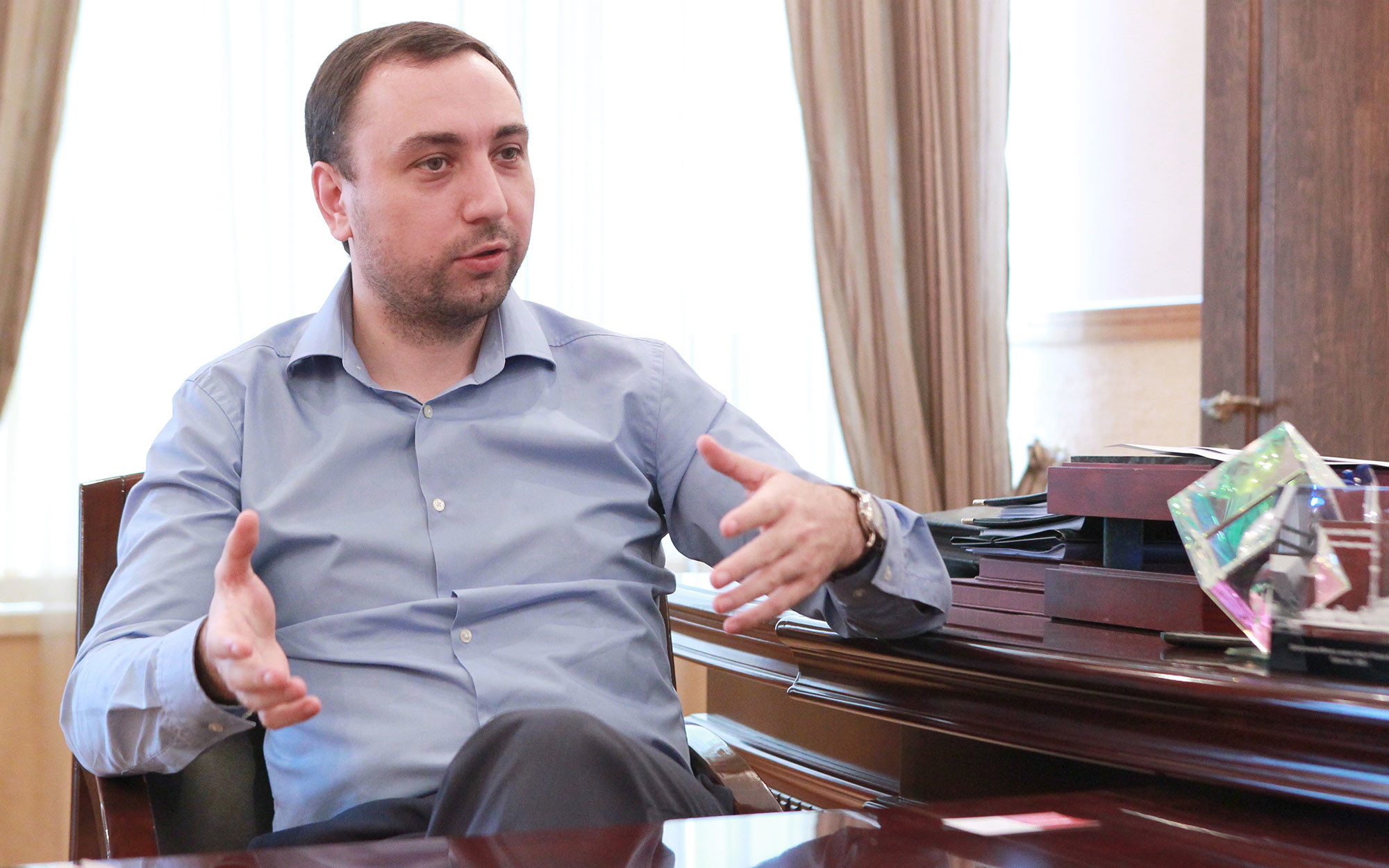 Депутат Госдумы Шамсаил Саралиев. Фото: © vk.com/Шамсаил Саралиев