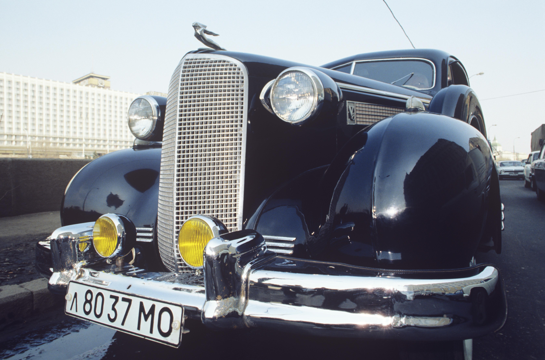 "<p><span>Автомобиль ""Кадиллак"", 1937 год.&nbsp;</span>Фото:&nbsp;&copy;&nbsp;РИА Новости/Александр Лыскин</p>"