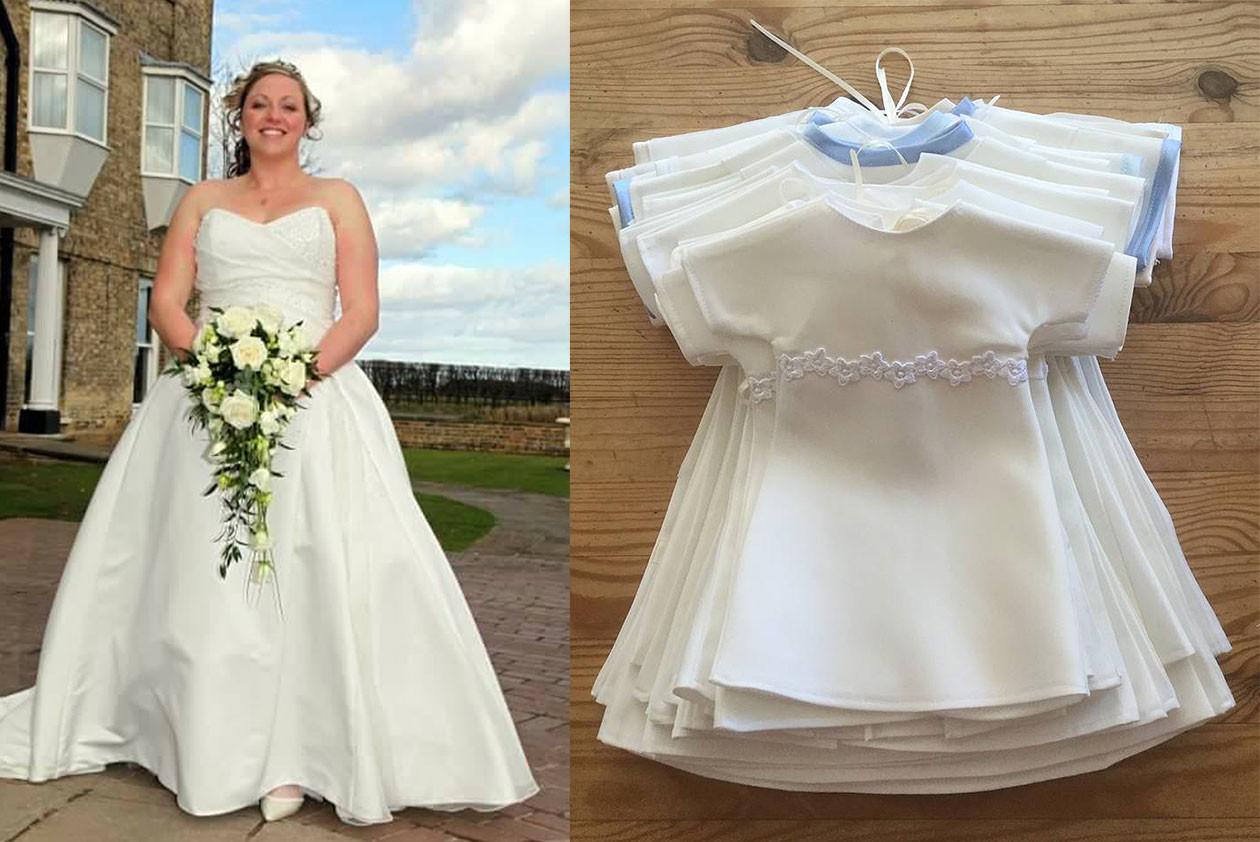 тяжелого перешить свадебное платье в вечернее фото меня