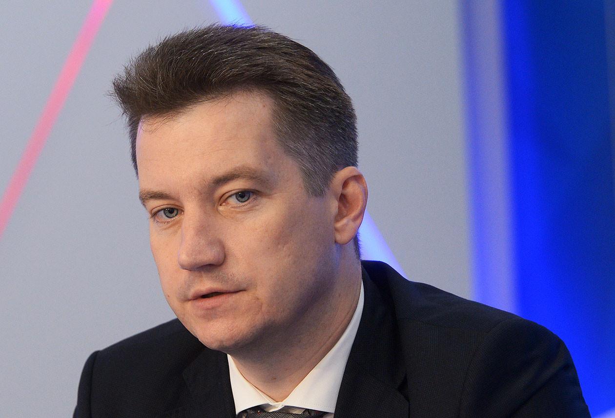 Член Комитета Государственной думы по финансовому рынку Антон Гетта. Фото: © РИА Новости/Владимир Трефилов