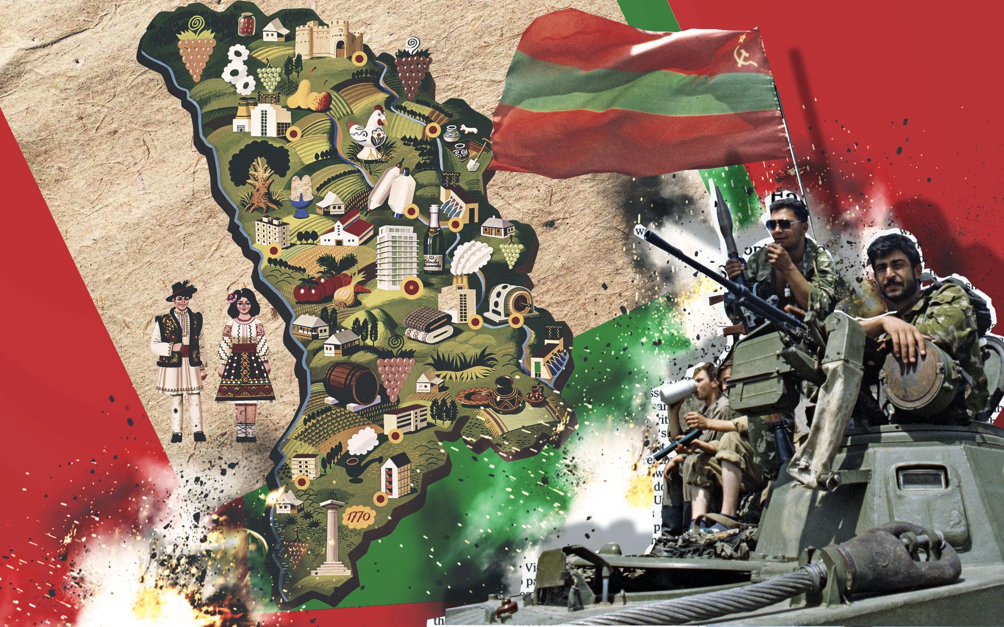 Противостояние Молдовы и Приднестровья