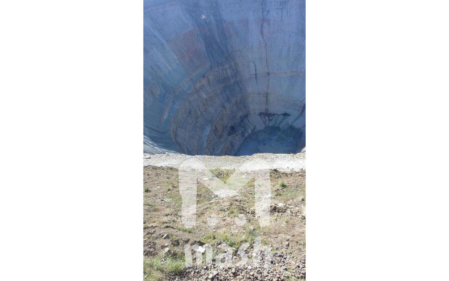 """Стекающая вода в руднике """"Мир"""". Фото: © MASH"""