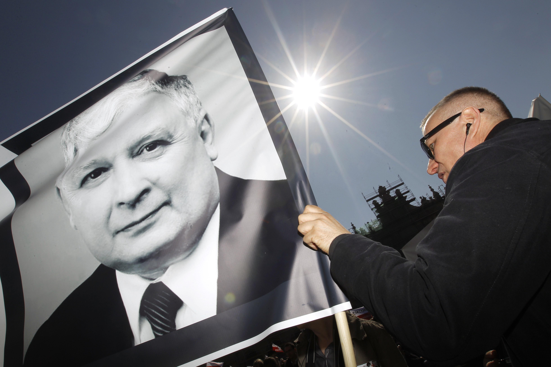 <p>Портрет погибшего президента Польши Леха Качиньского. Фото: &copy;РИА Новости/Илья Питалев</p>