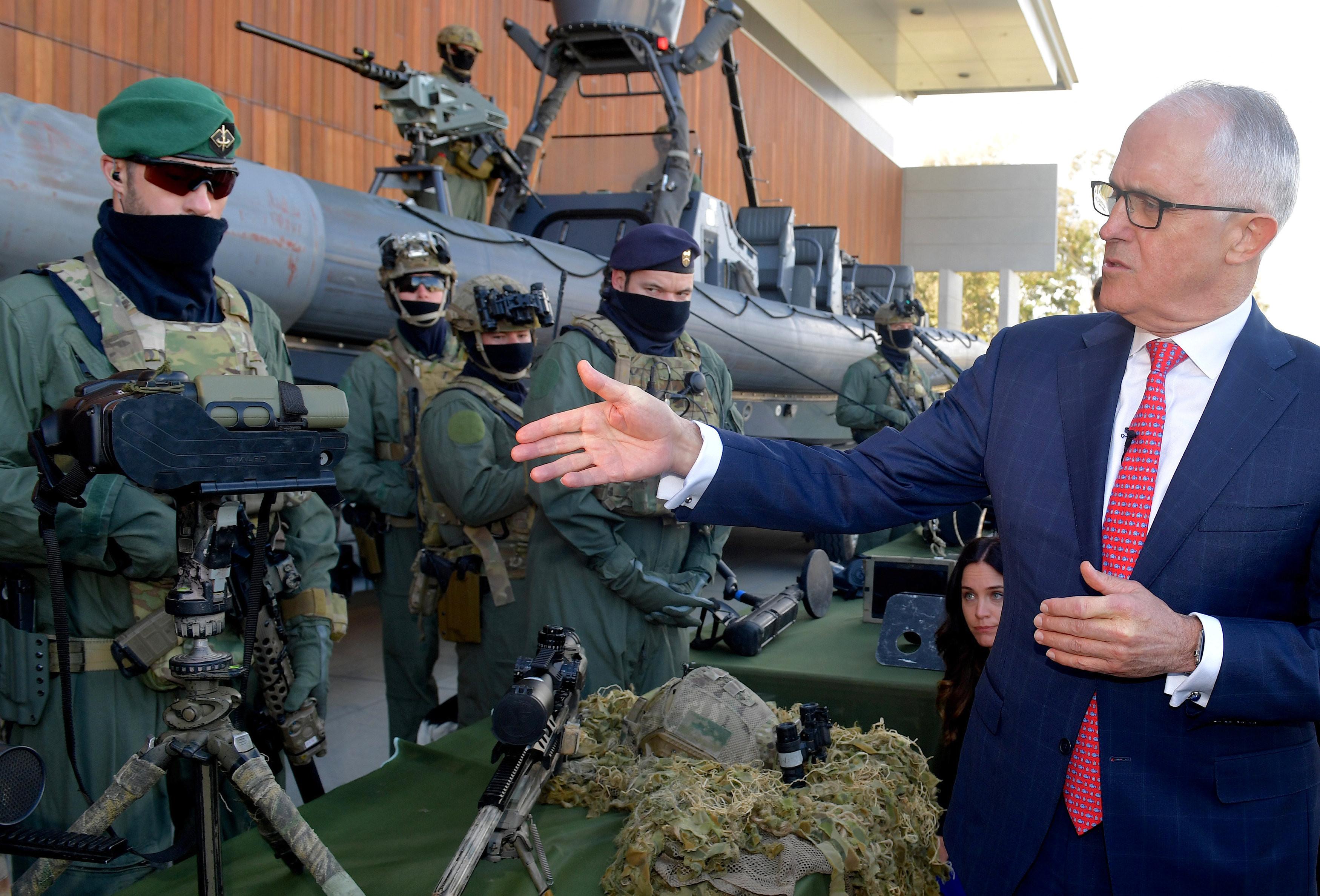 <p>Премьер-министр Австралии Малколм Тёрнбулл. Фото: &copy; REUTERS</p>