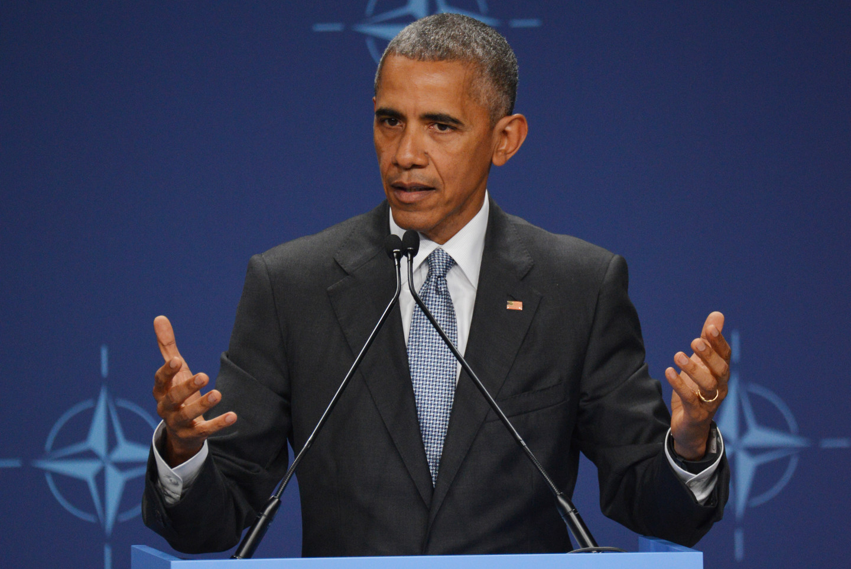 <p><span>44-ый президент США Брак Обама. Фото: &copy; РИА Новости/Алексей Витвицкий</span></p>