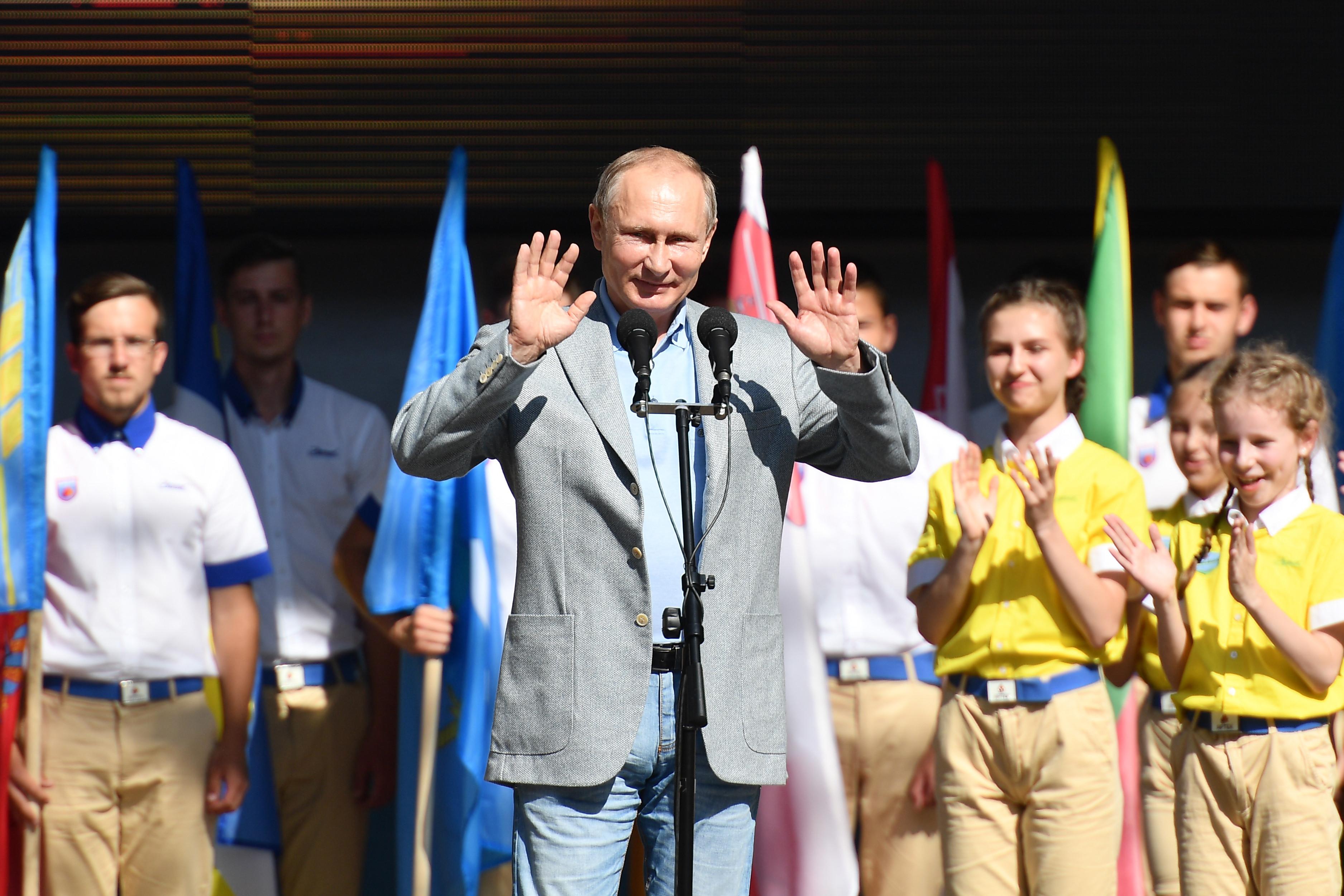 <p><span>Президент РФ Владимир Путин. Фото &copy; РИА Новости/Рамиль Ситдиков</span></p>