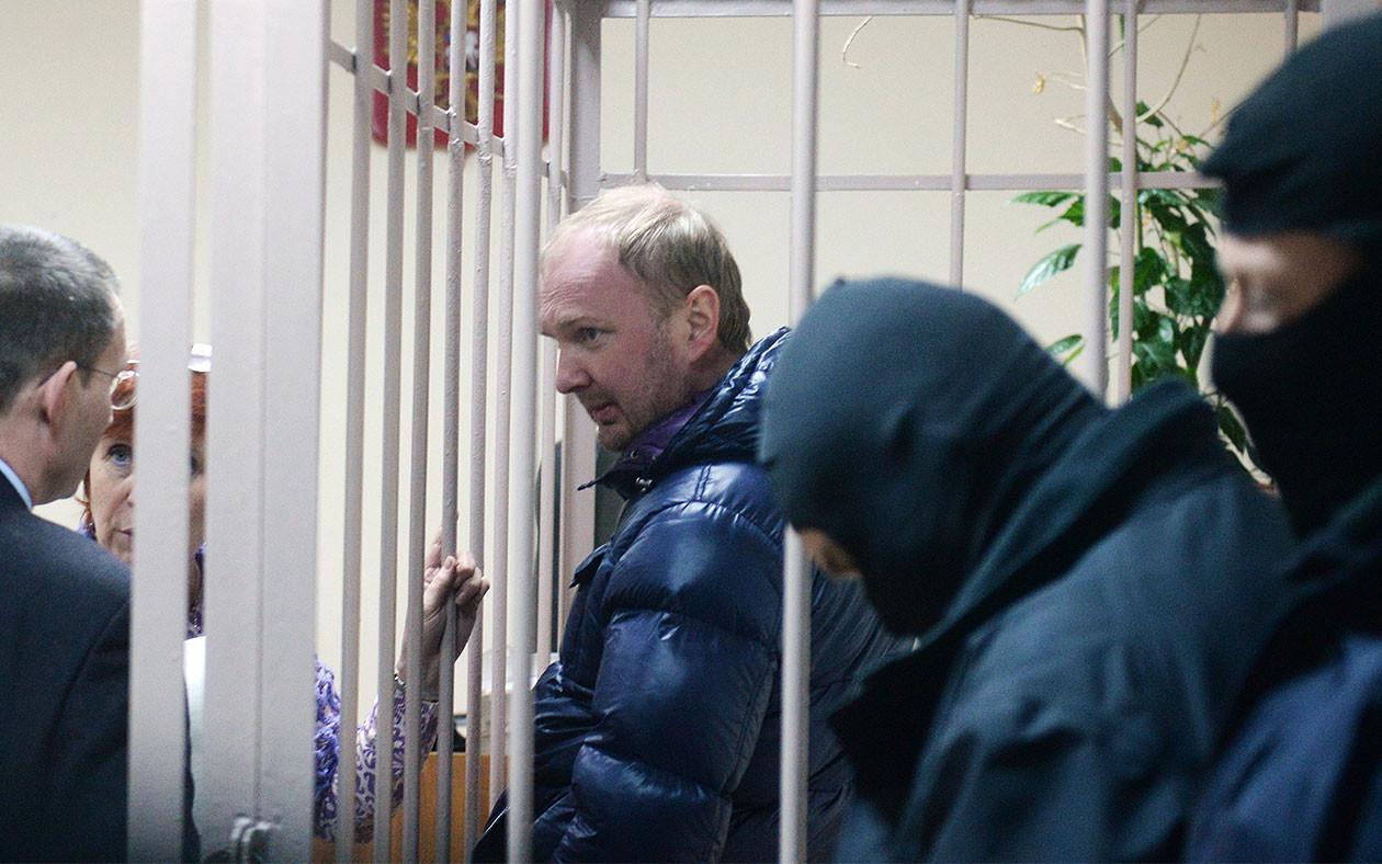 Александр Коченов (в центре). Фото: © РИА Новости/Кирилл Каллиников