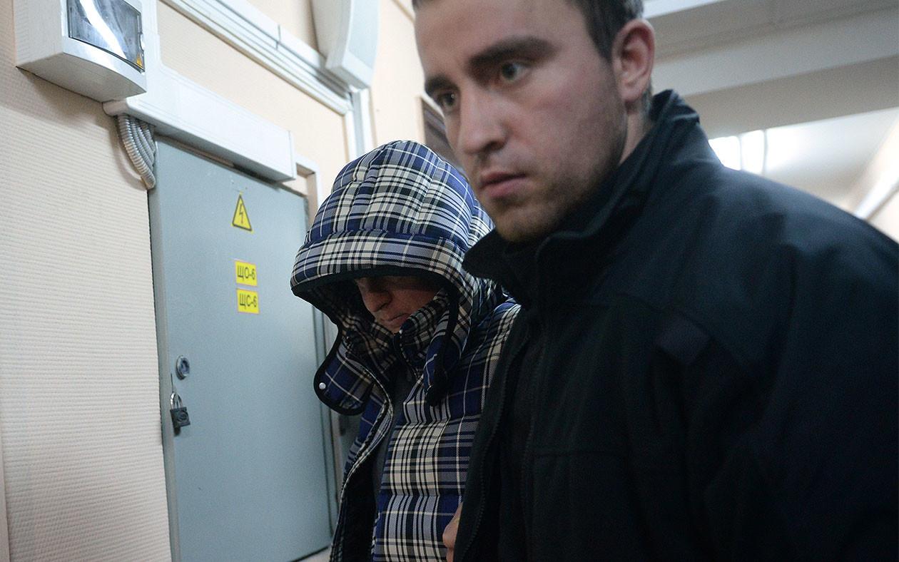 "Директор компании ""Балтстрой"" Дмитрий Сергеев (слева). Фото: © РИА Новости/Кирилл Каллиников"