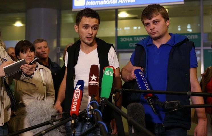 Никита Конашенков и Евгений Давыдов