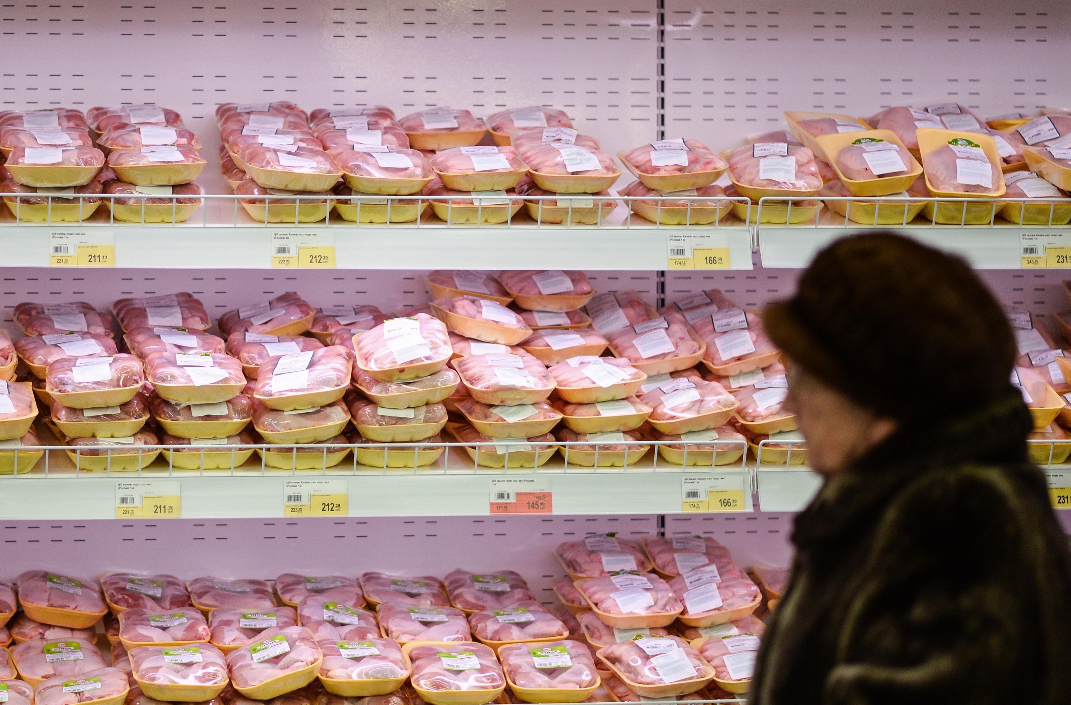 <p>Посетитель супермаркета. Фото: &copy; РИА Новости/Константин Чалабов</p>