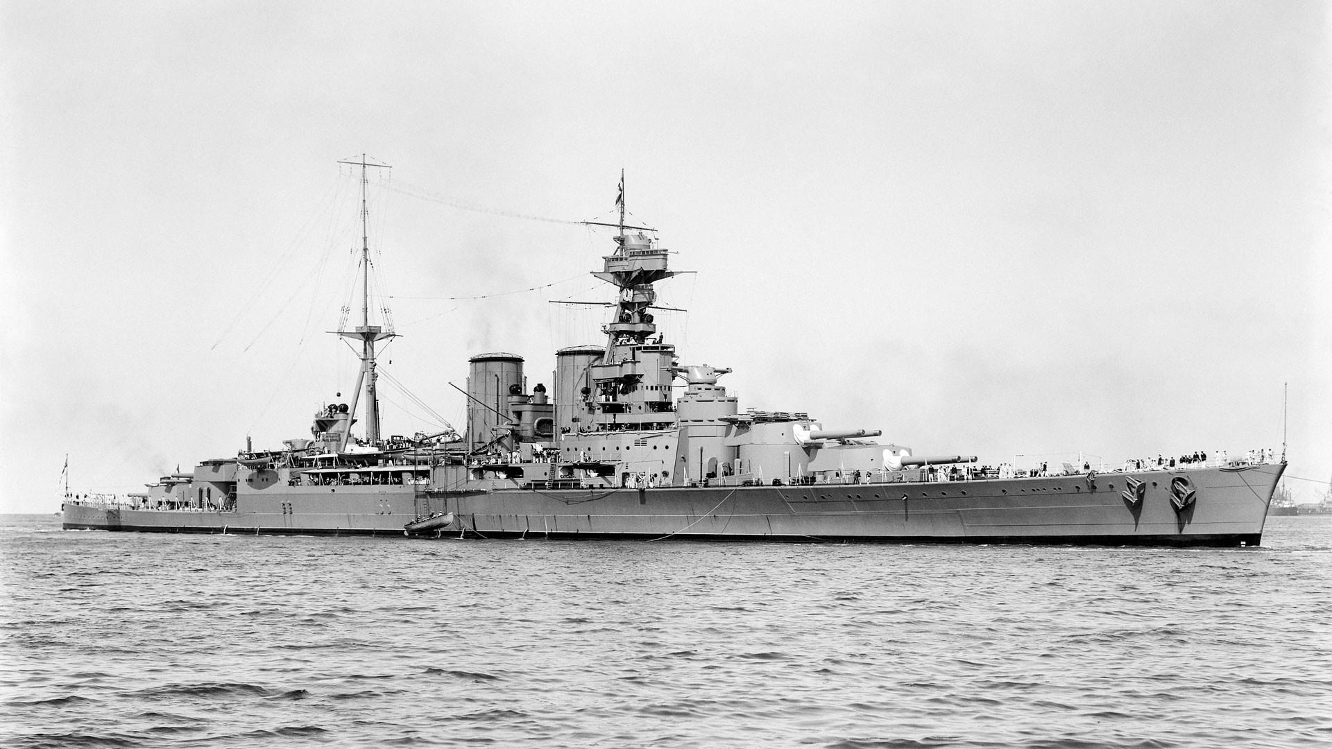"Линейный крейсер ""Худ"". Фото: © wikipedia.org"