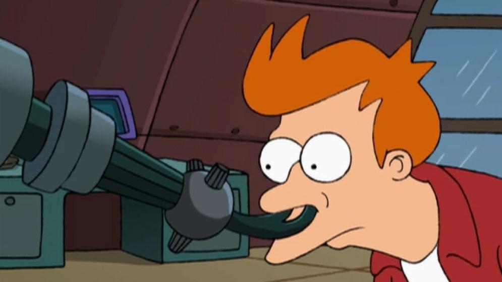 "Нюхоскоп. Кадр из мультсериала ""Футурама"""