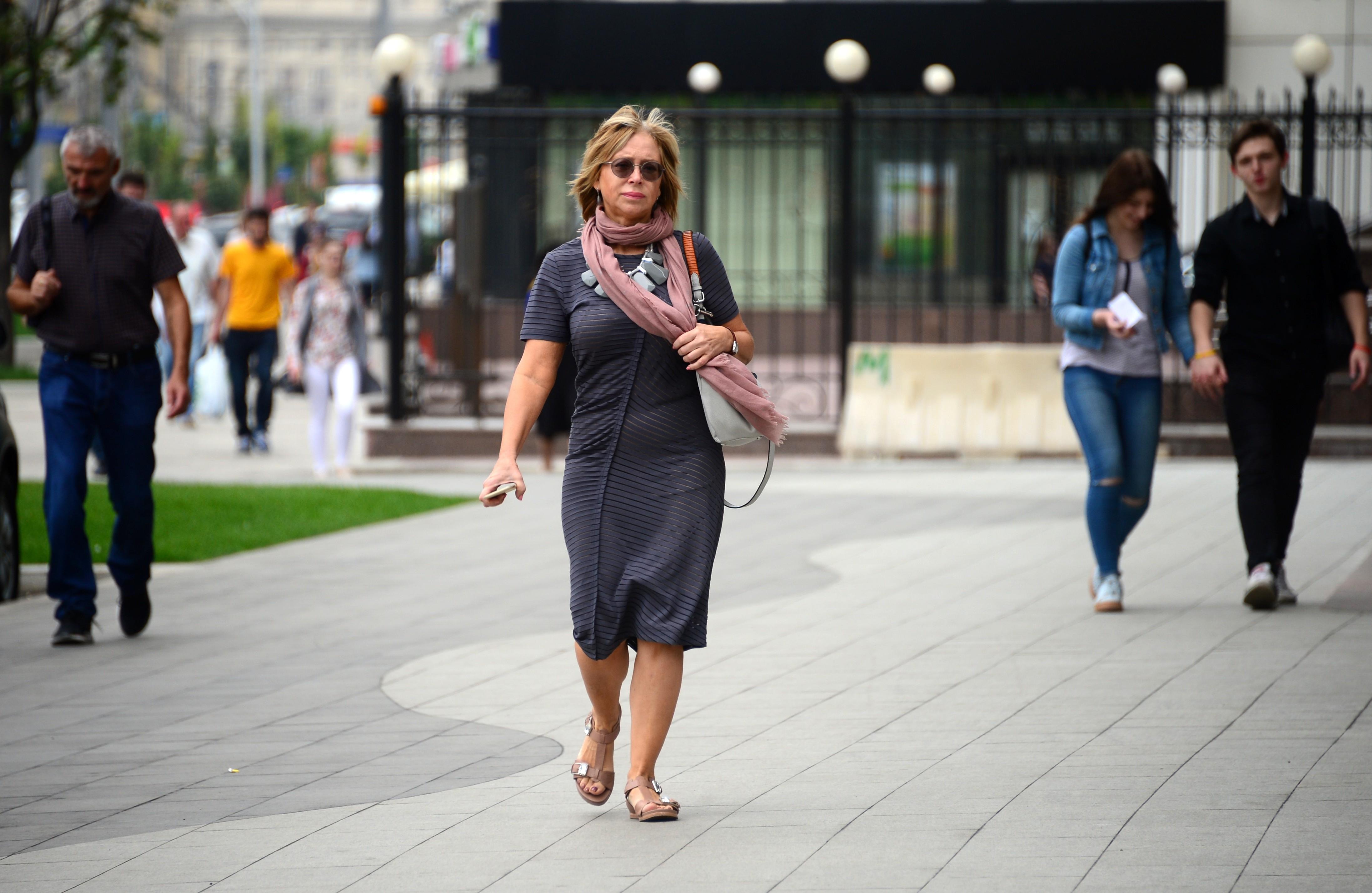 <p>Пешеходы в Москве. Фото: &copy; РИА Новости/Кирилл Каллиников</p>