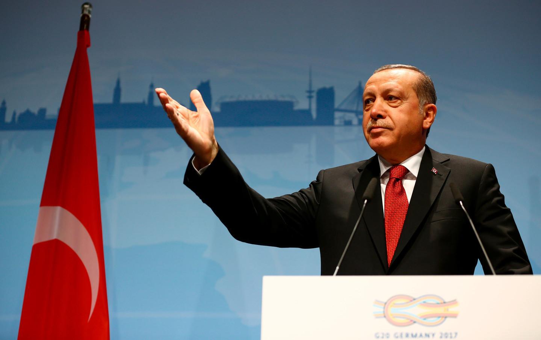<p><span>Президент Турции Тайип Эрдоган. Фото: &copy;REUTERS/</span><span>WOLFGANG RATTAY</span></p> <div> <div> <div></div> </div> </div>