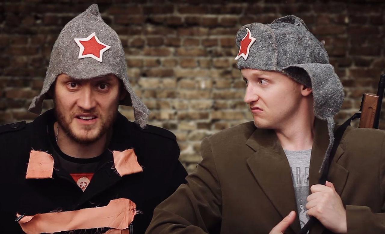 Михаил Печерский и Алексей Псковитин Фото: Youtube.com