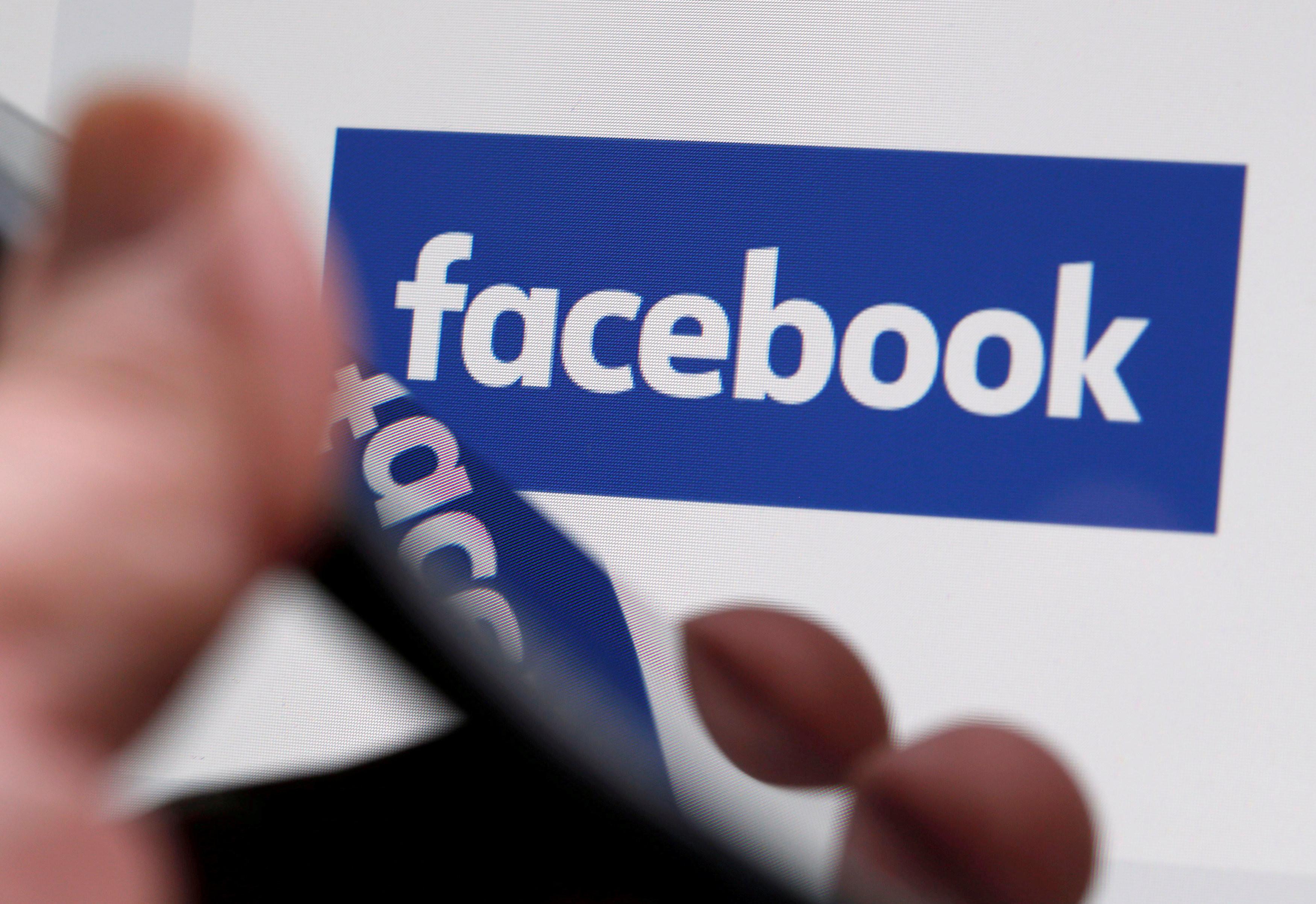 <p>Логотип Facebook. Фото: &copy; REUTERS/Regis Duvignau</p>
