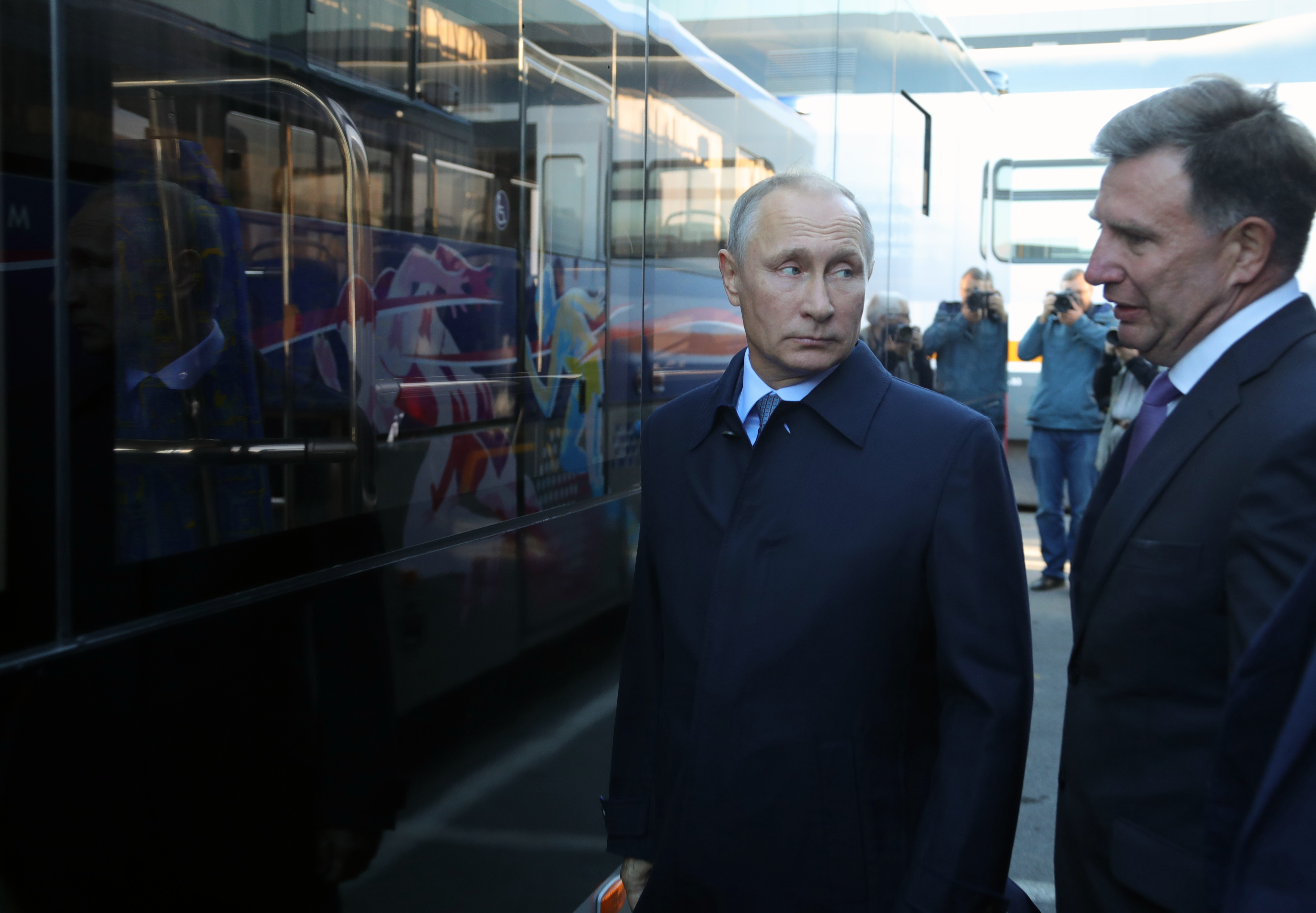 <p><span>Президент РФ Владимир Путин. Фото &copy; РИА Новости/Михаил Климентьев</span></p>