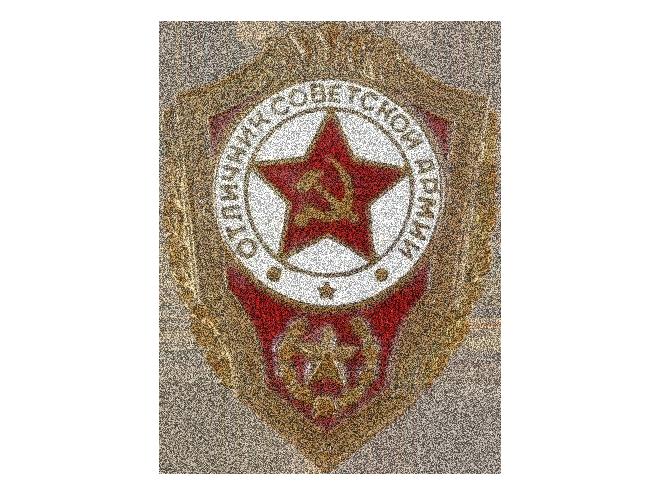 """""""Отличник Советской армии"""", нагрудный знак"""