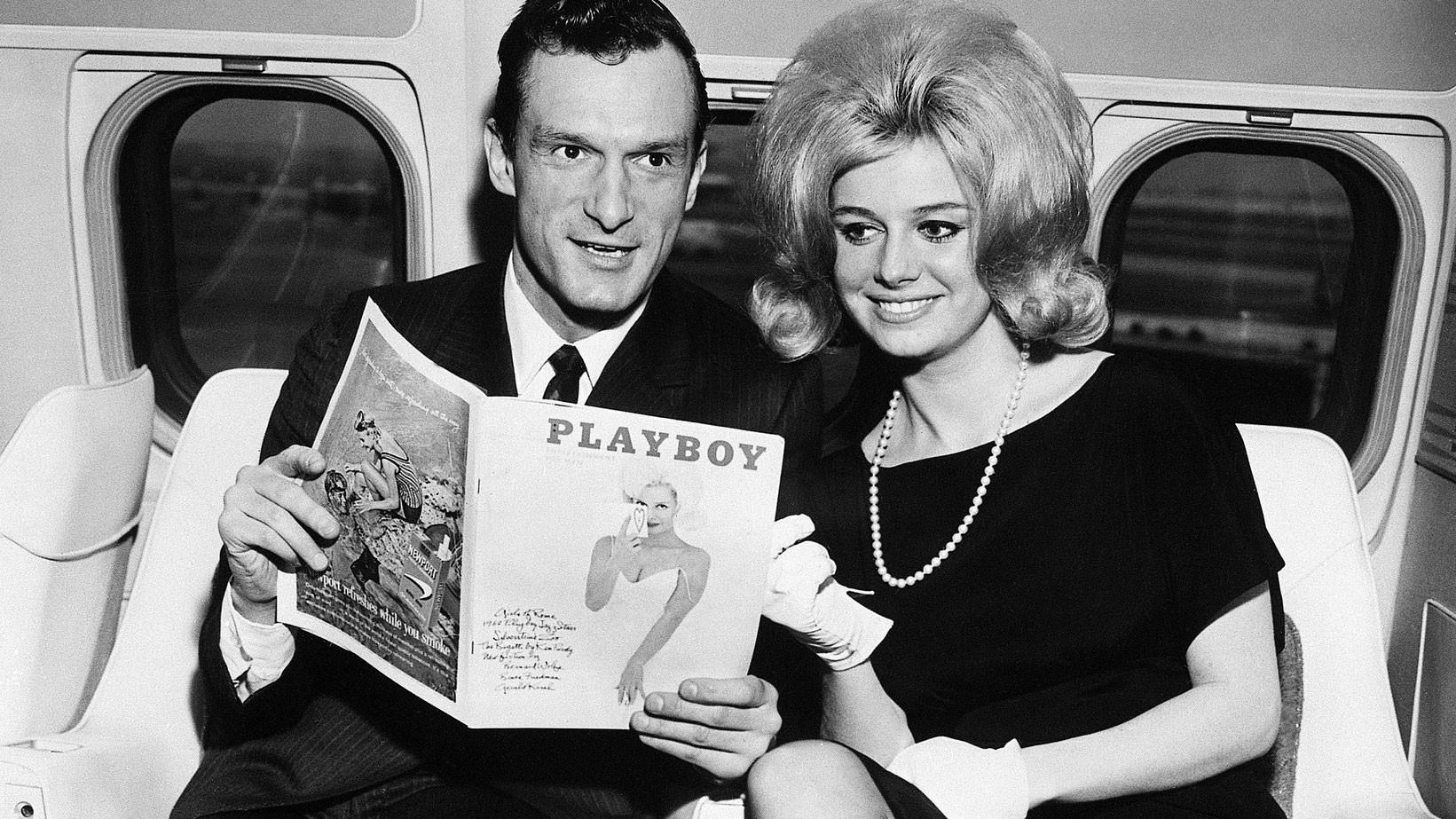 Хефнер с Синтией Мэддокс в 1962 году. Фото: © wikipedia.org