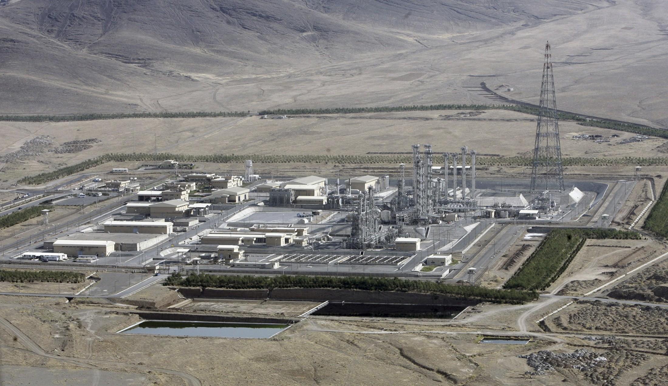 Общий вид ядерного центра по обогащению урана Натанз. Фото: © REUTERS/ISNA