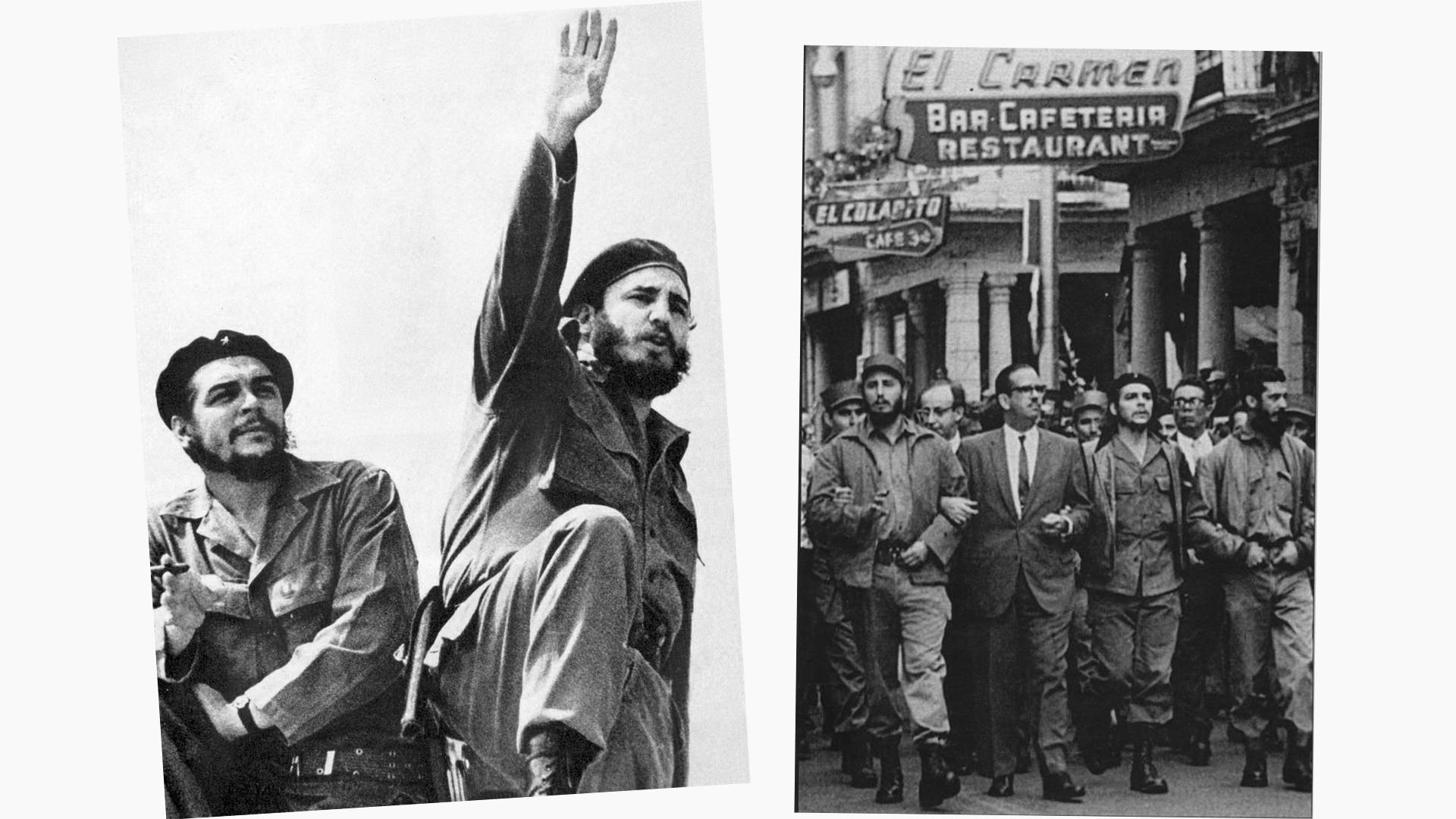 Че Гевара и Фидель Кастро. Фото: © wikipedia.org