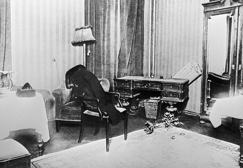 """Комната № 5 в гостинице """"Англетер"""". Фото © РИА Новости"""