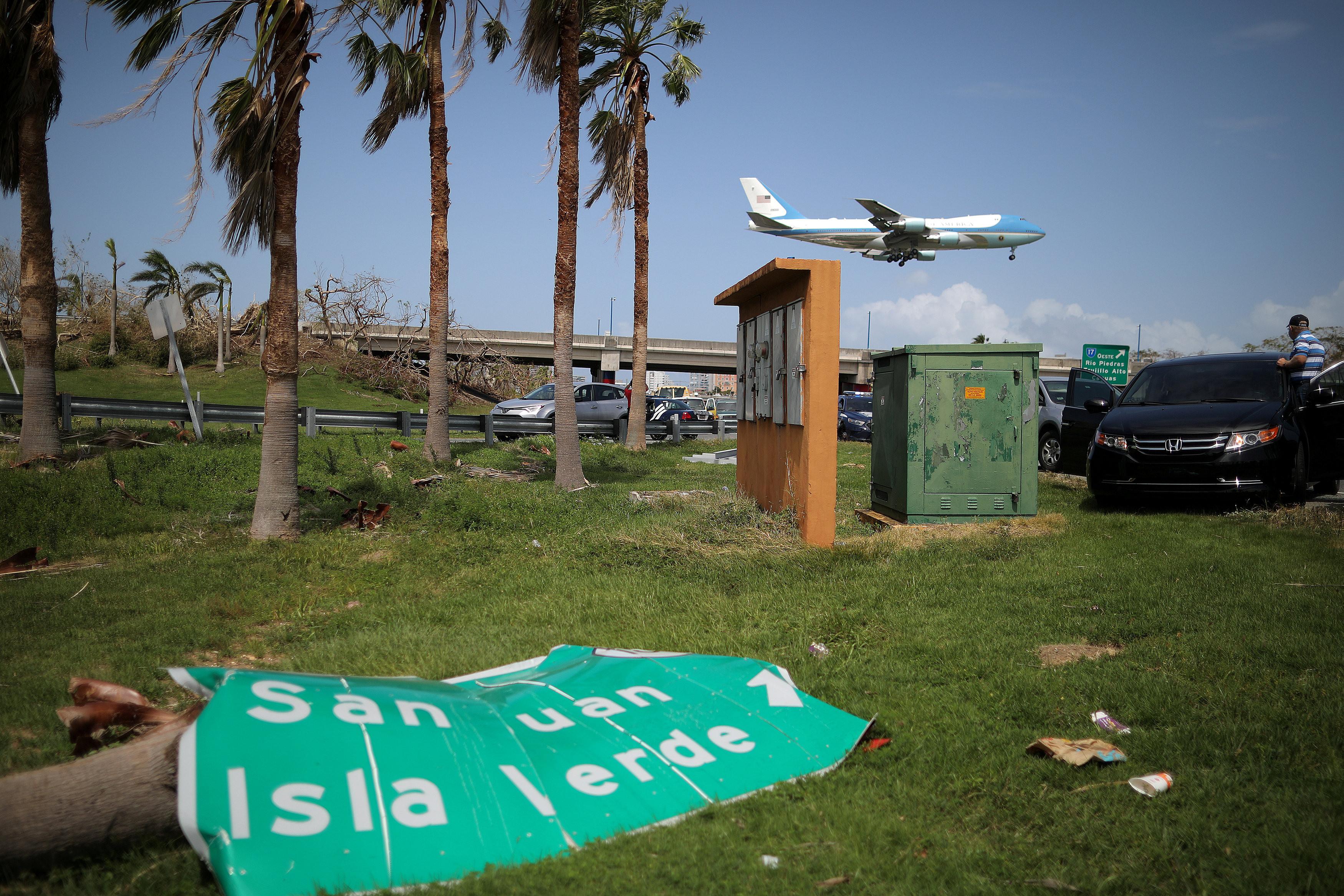 "<p>Последствия урагана ""Мария"" в Пуэрто-Рико. Фото: &copy; REUTERS/Carlos Barria</p>"