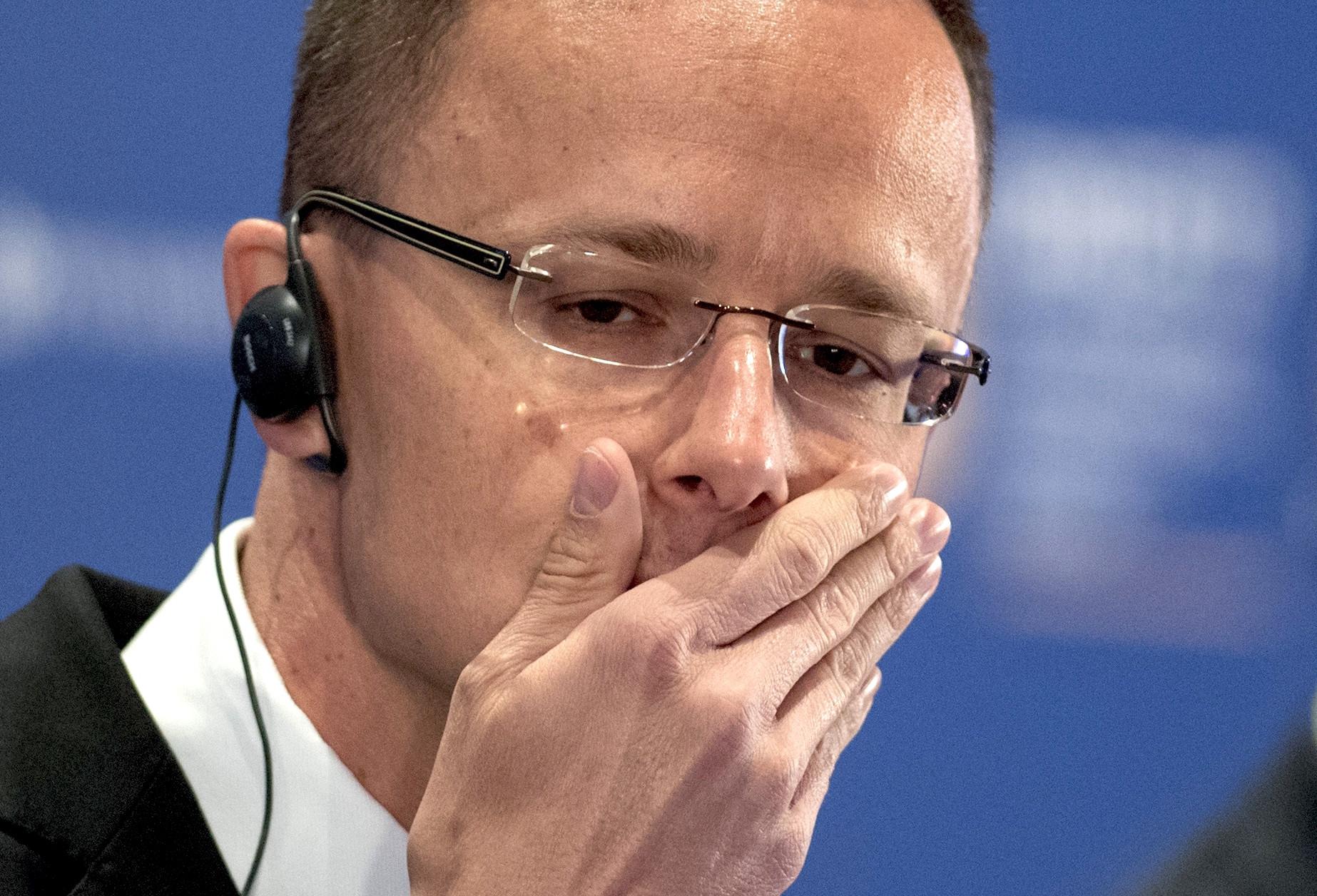 <p>Министр иностранных дел Венгрии&nbsp;<span>Петер Сийярто. Фото: &copy; РИА Новости</span></p>