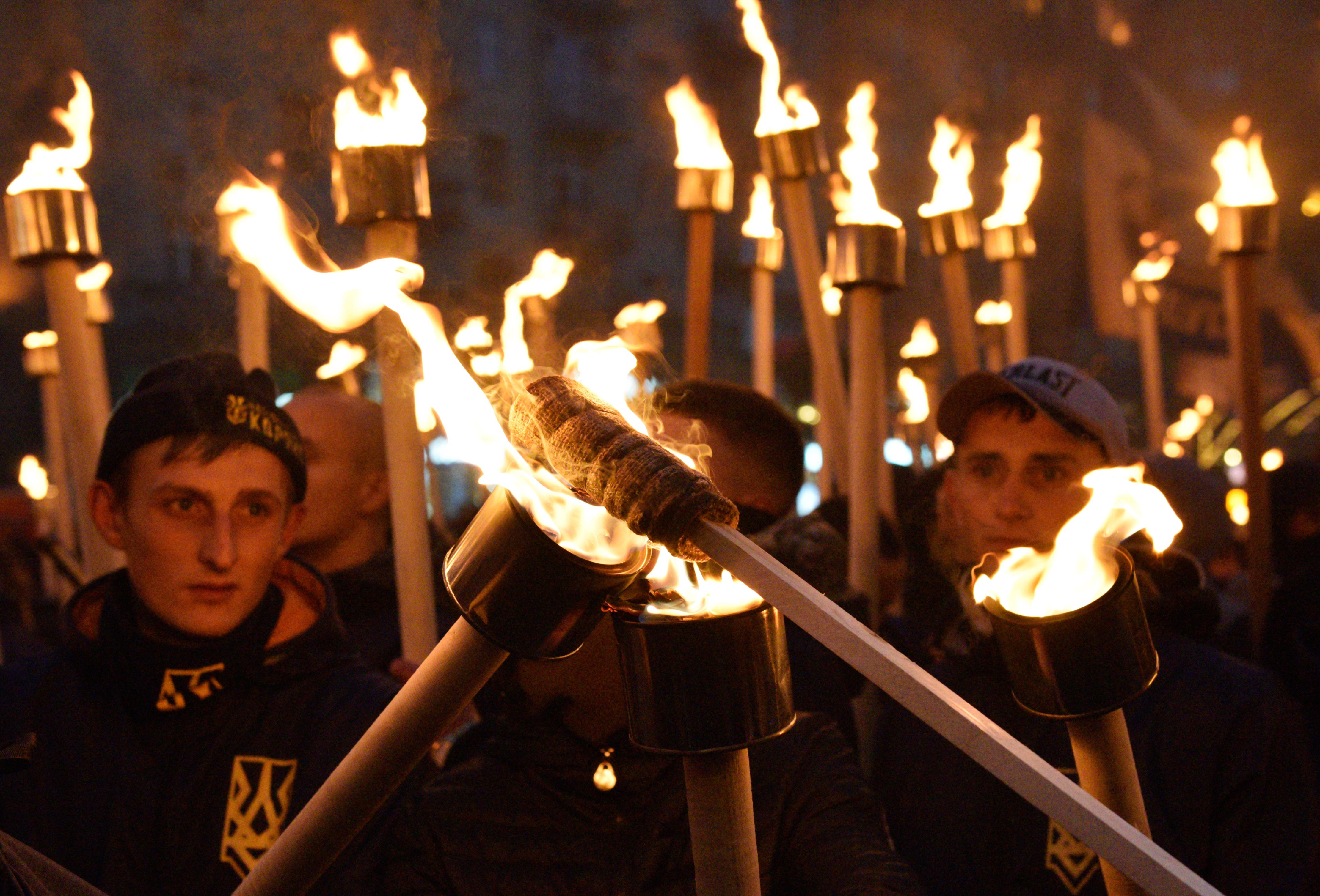 <p>Марш националистов в Киеве. Фото: &copy; РИА Новости</p>