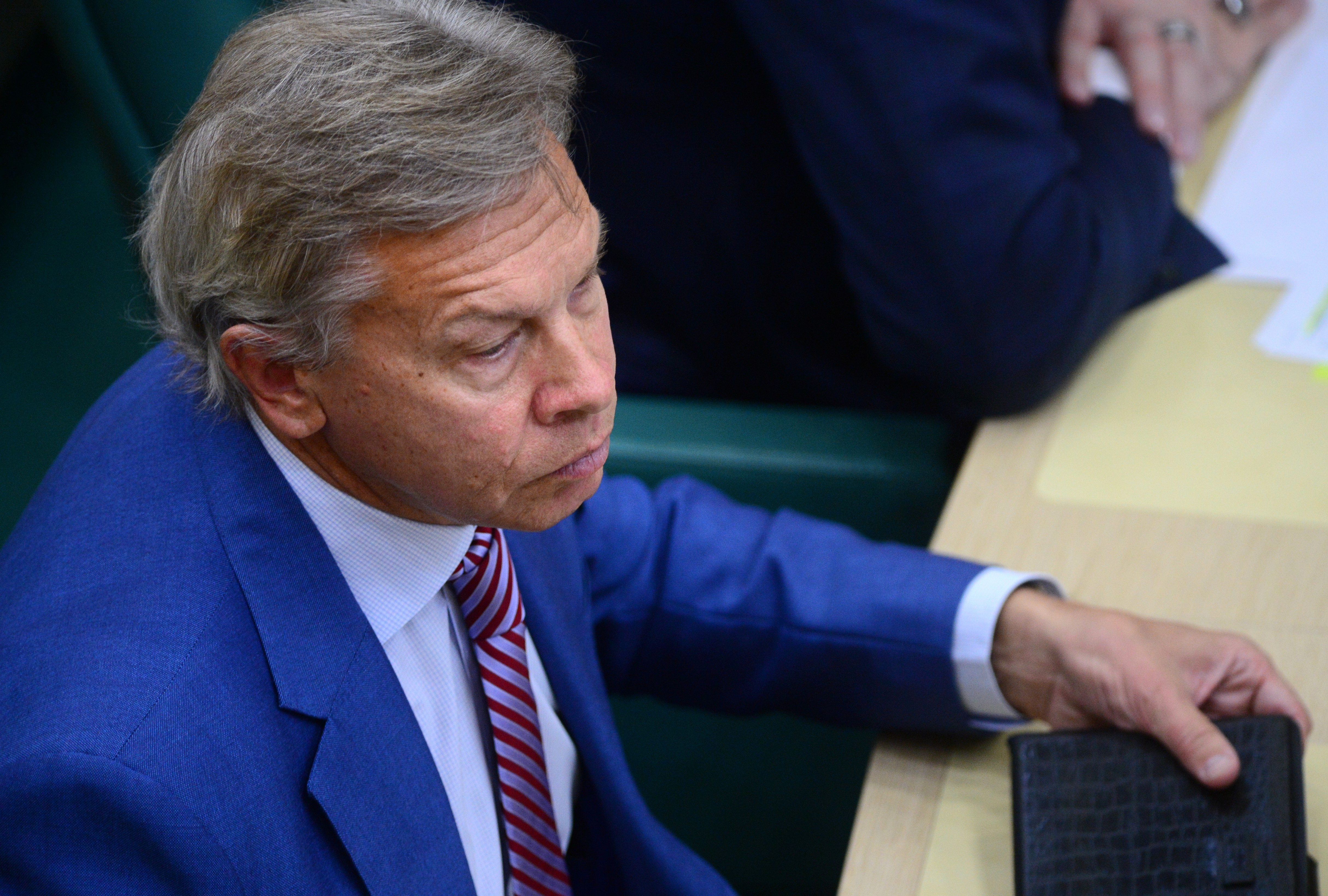 <p>Сенатор Алексей Пушков. Фото: &copy; РИА Новости/Кирилл Каллиников</p>