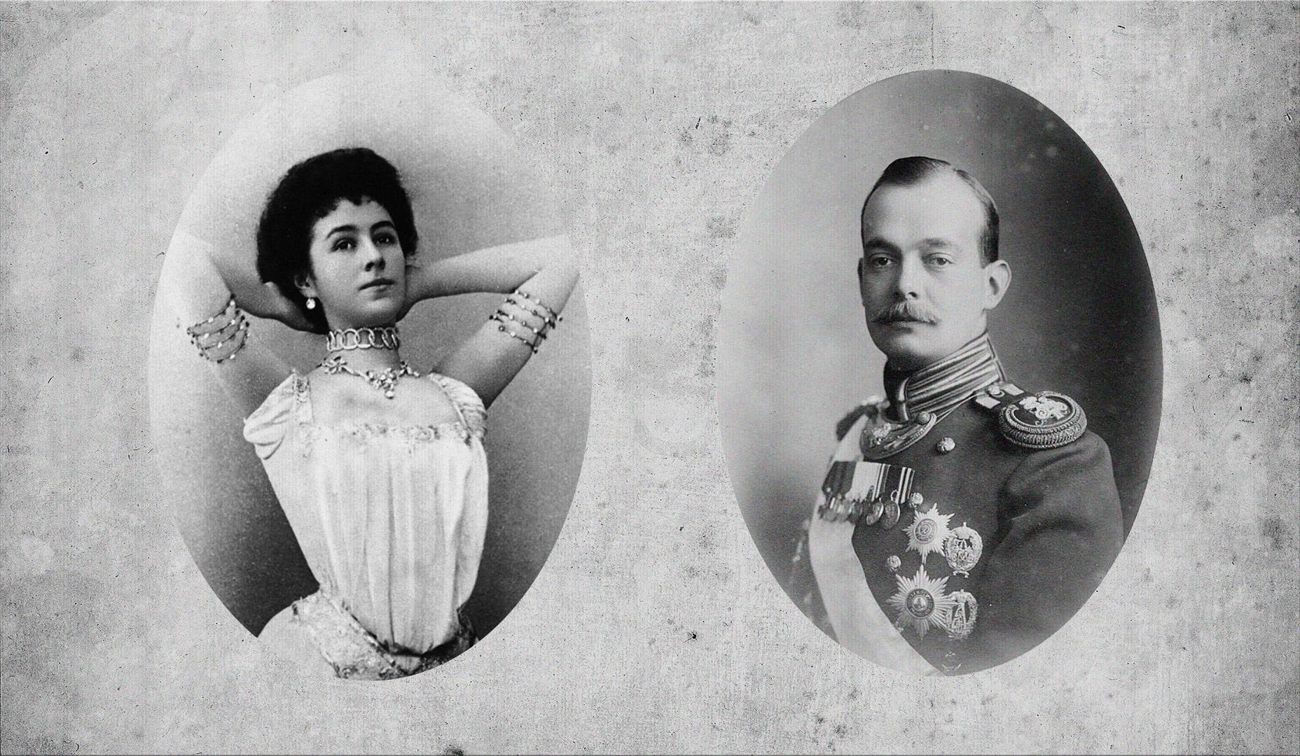 Матильда Кшесинская и князь Андрей Владимирович Романов. Фото © Wikimedia Commons// РИА Новости