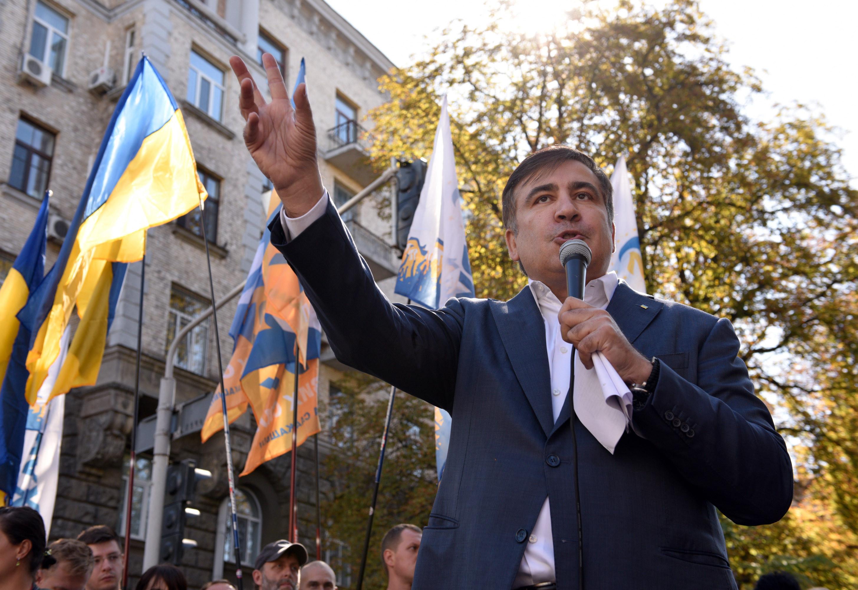 <p><span>Бывший президент Грузии, экс-губернатор Одесской области Михаил Саакашвили.&nbsp;Фото &copy; РИА Новости</span></p>