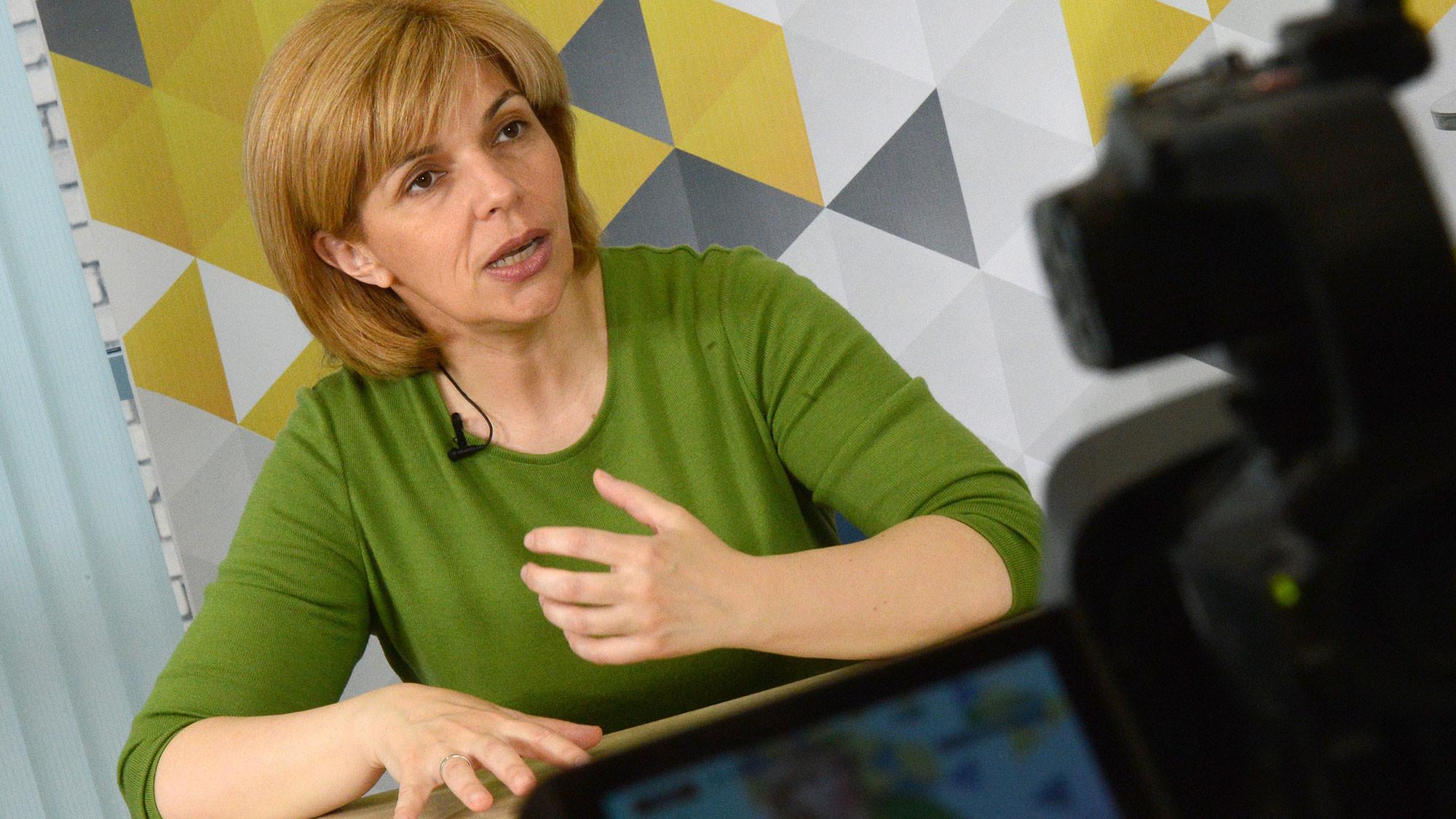 Ольга Богомолец. Фото: © РИА Новости / Евгений Биятов