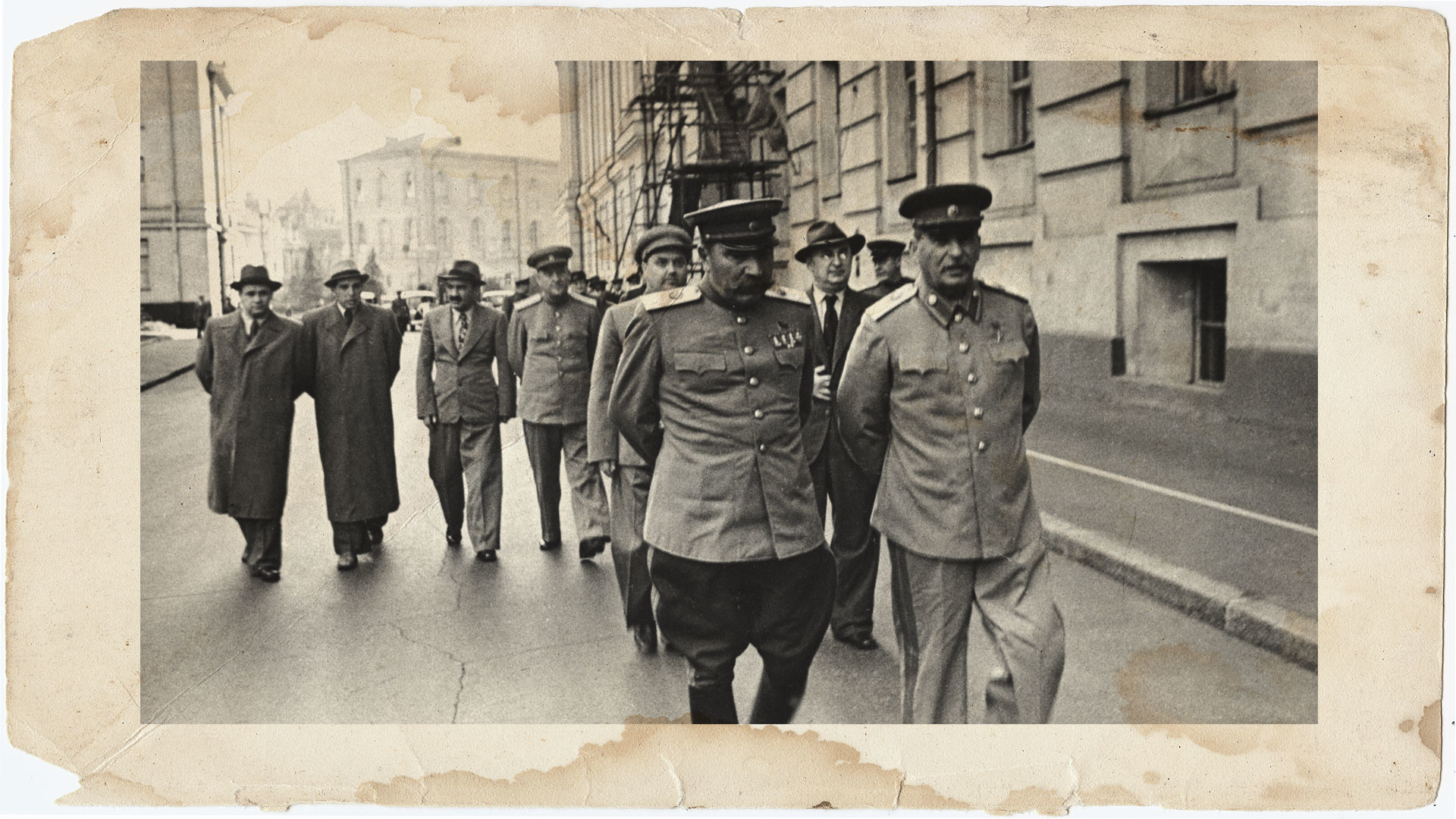 Иосиф Сталин, Семён Будённый (на переднем плане). Фото: © РИА Новости/Фёдор Кислов
