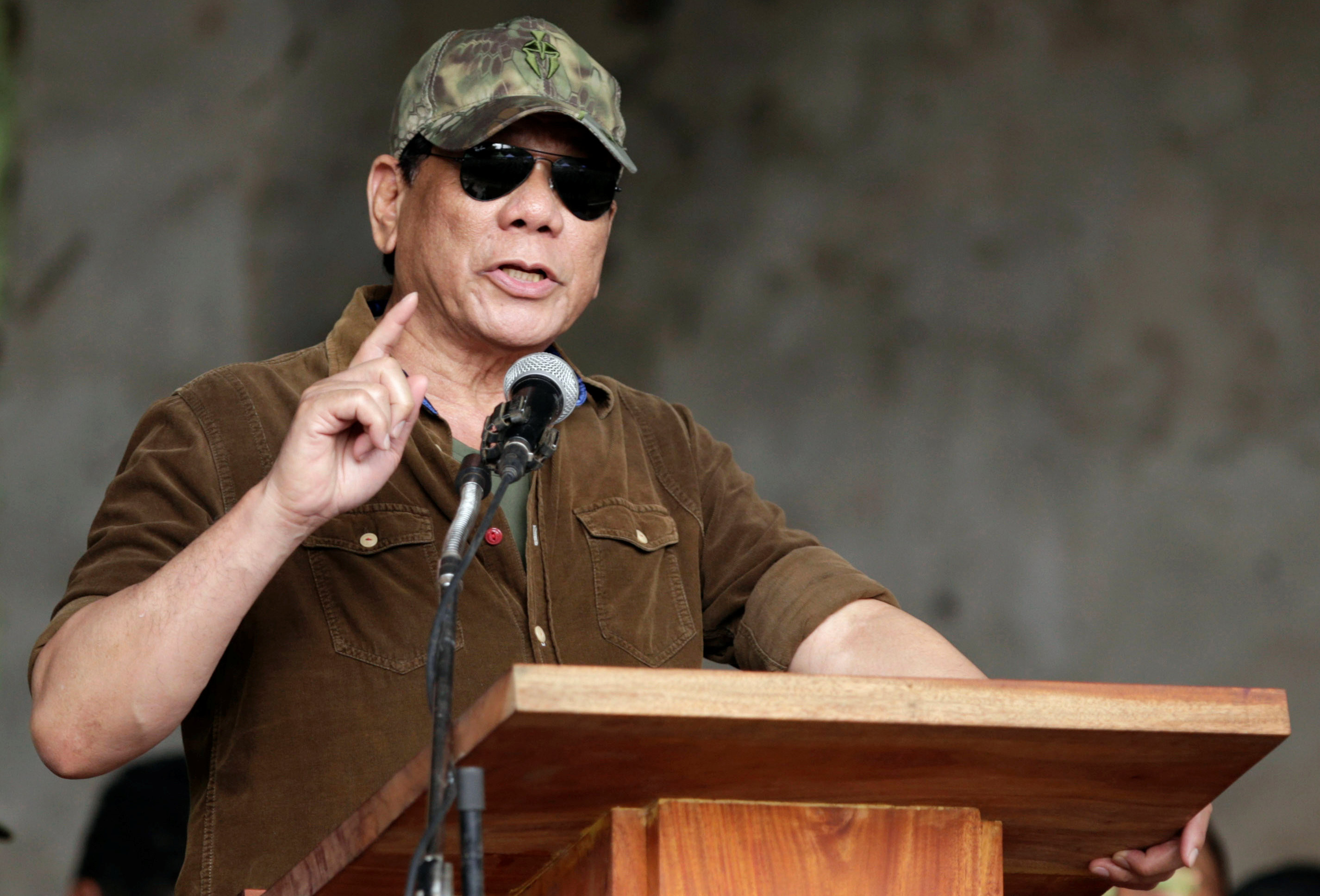 <p>Президент Филиппин Родриго Дутерте. Фото: &copy;&nbsp;<span>REUTERS</span></p>